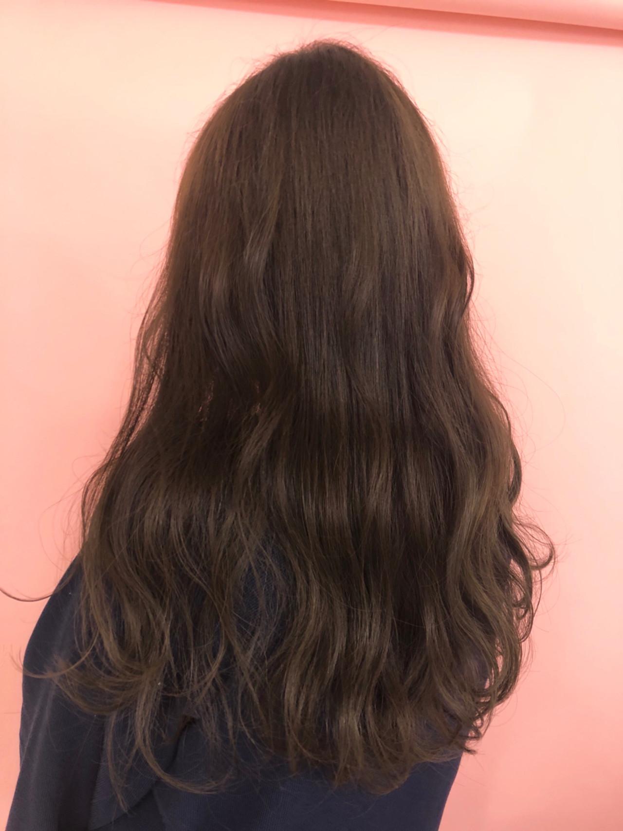 ベージュ 愛され ピンク ラベンダーピンク ヘアスタイルや髪型の写真・画像