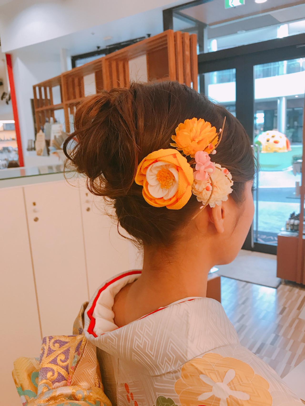 華やかに美しく髪を飾るつまみ細工 永井野 健人