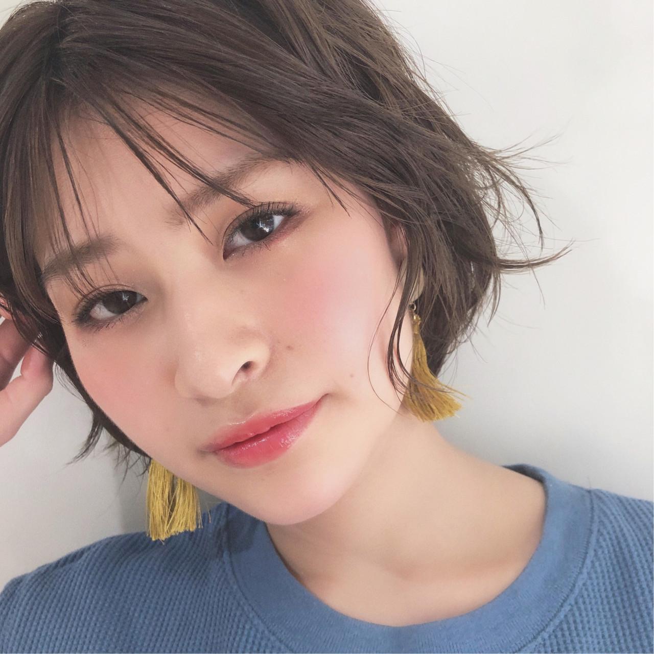 シースルーバングでかわいくアップデート♡ 豊田楓