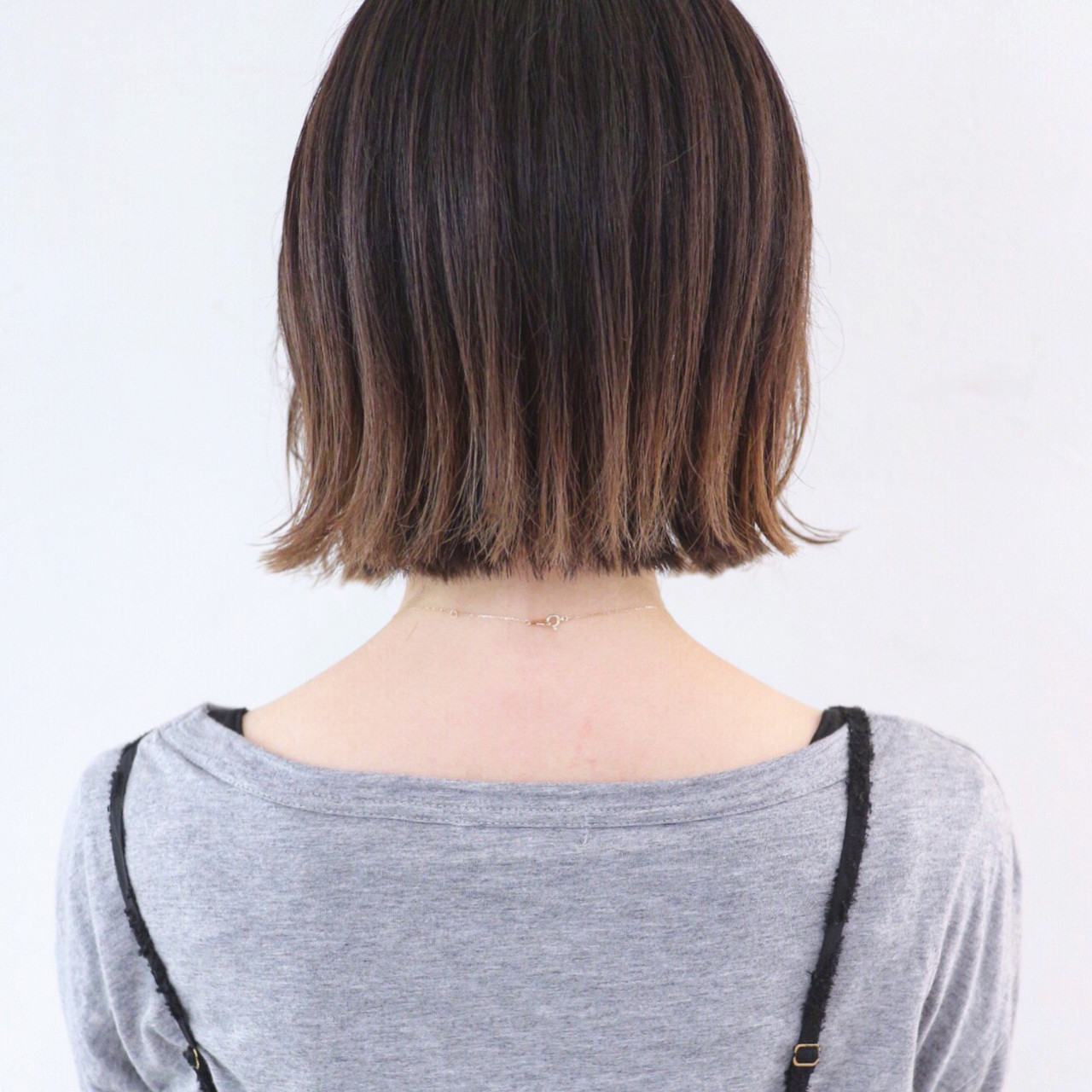 オフィスにもおすすめのボブのグラデーションカラー 三好 佳奈美Baco.(バコ)
