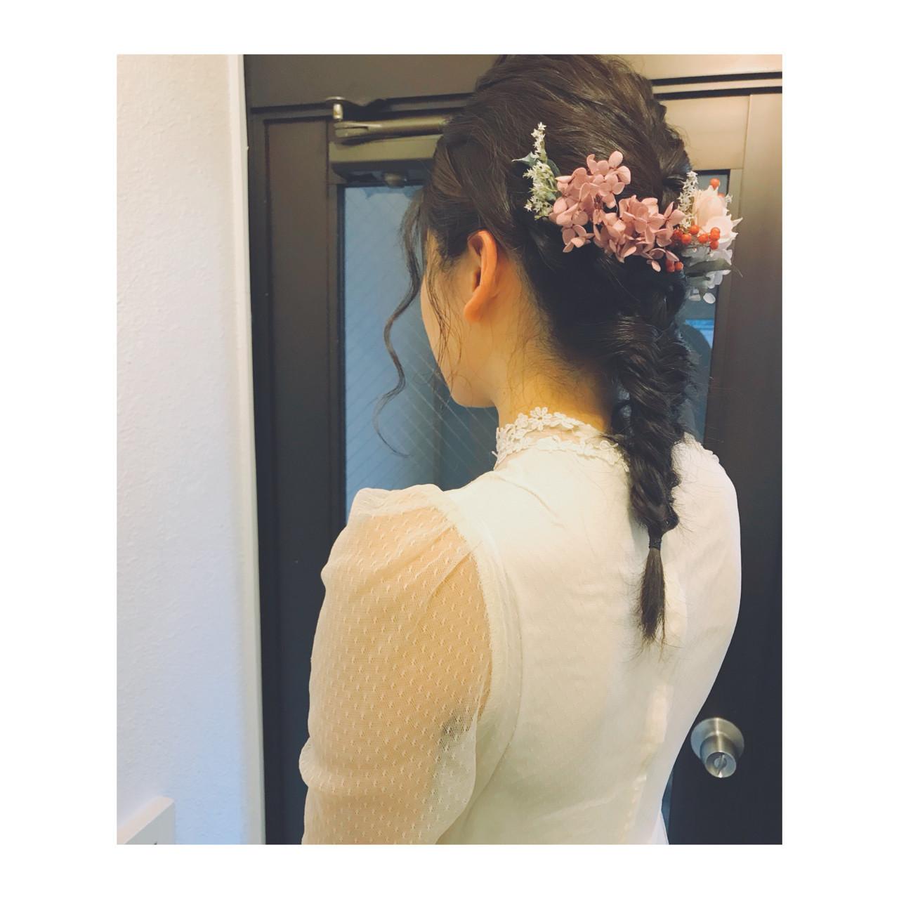 編みおろしスタイルはフィッシュボーンが人気 YUKINA / HOMIE TOKYO
