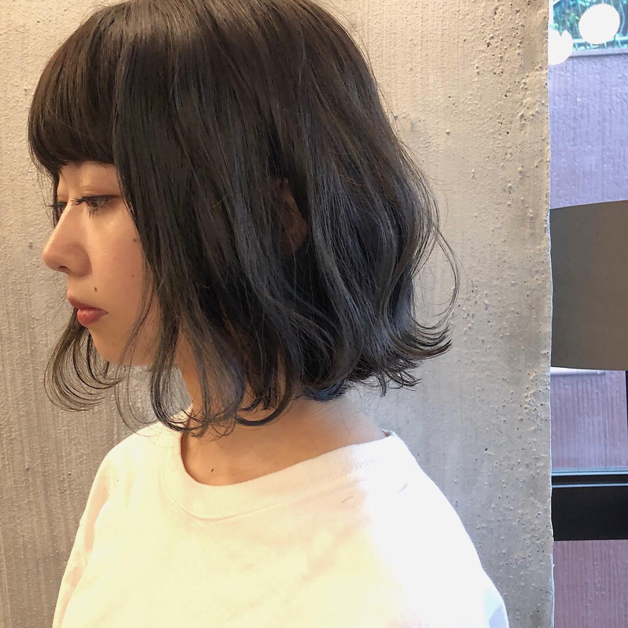ふわふわ感がかわいい♡黒髪ボブ 冨永 真太郎
