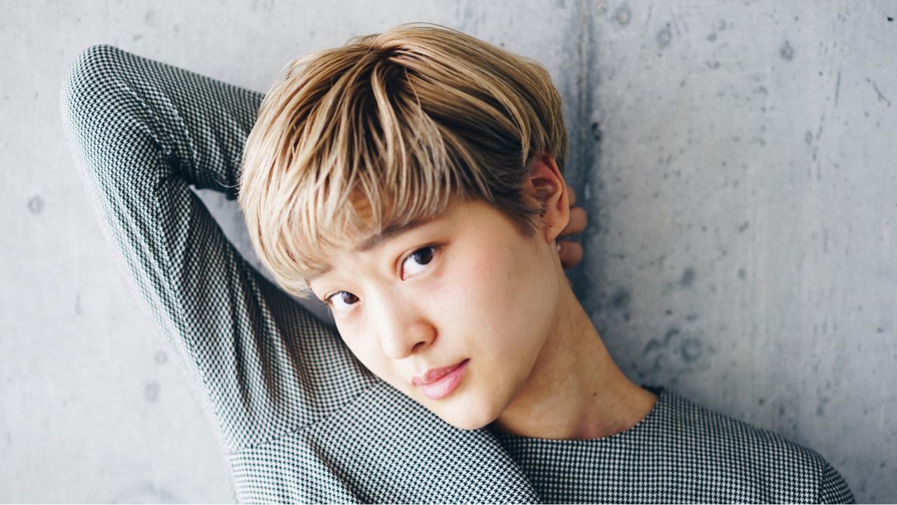 外国人風カラー 小顔 ショート ベリーショート ヘアスタイルや髪型の写真・画像