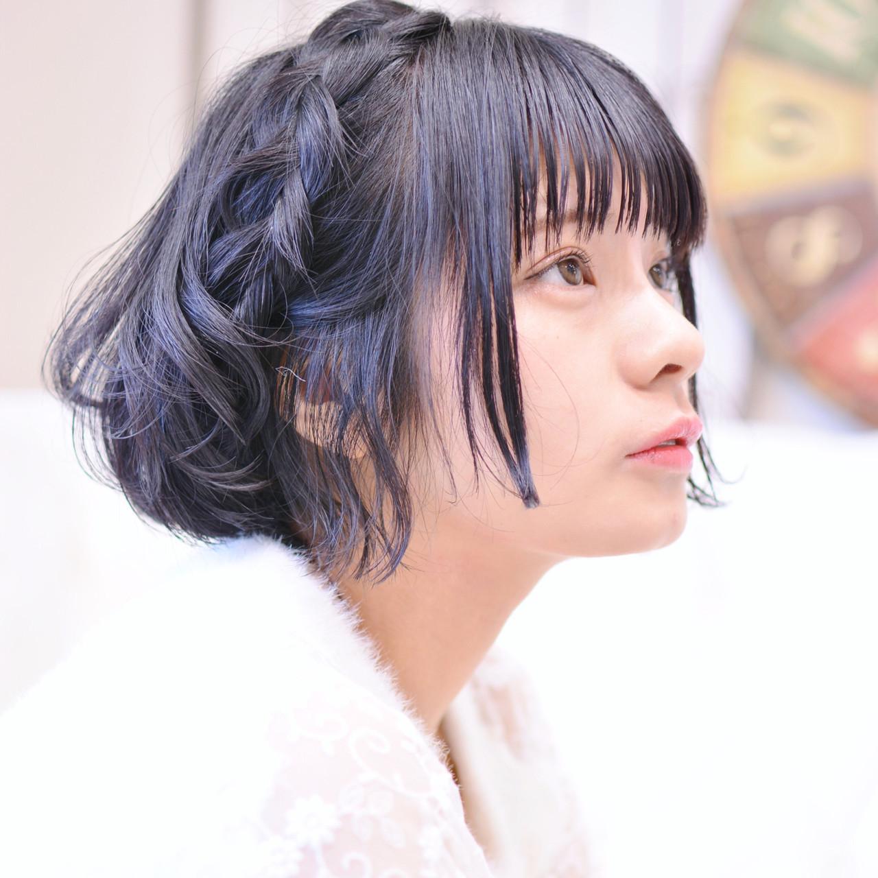 キュートな編み込みカチューシャアレンジも Shiko Kajihara