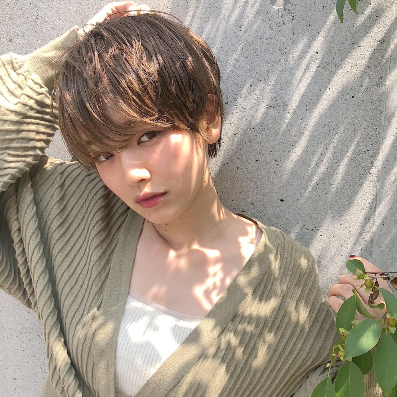 前髪長めがステキ☆おしゃかわ女子のベリーショート GARDEN柴田あやな