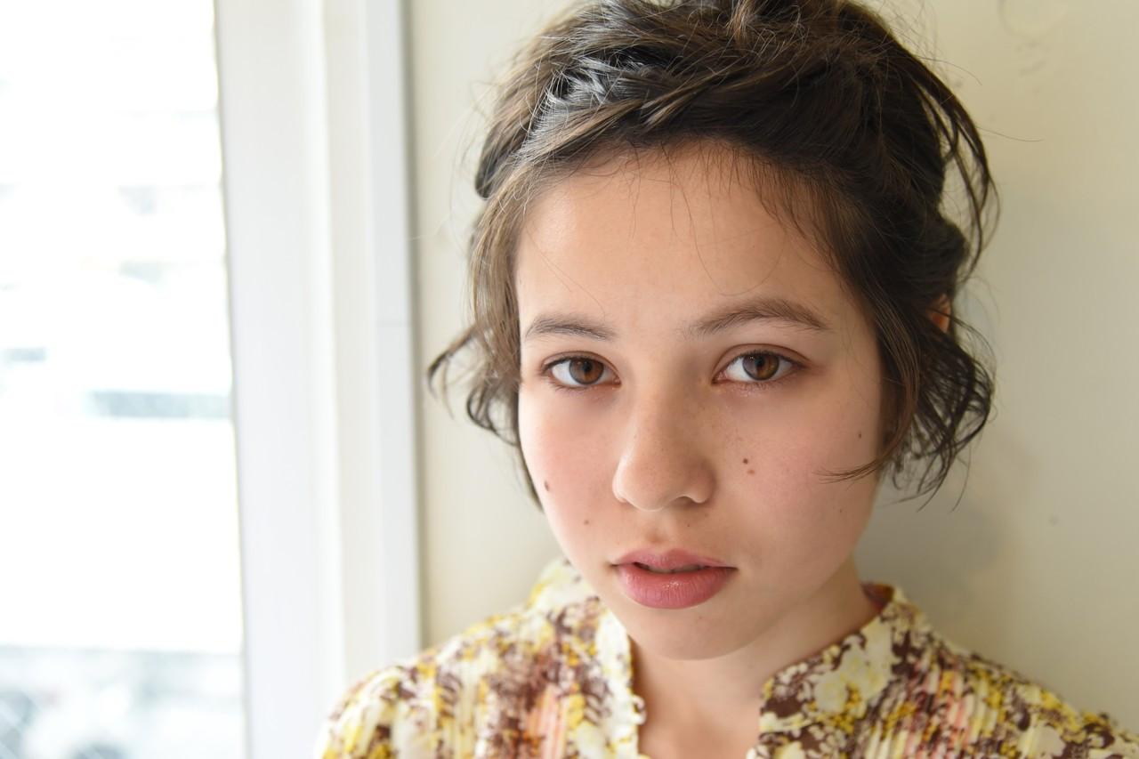 デート 簡単ヘアアレンジ 夏 ナチュラル ヘアスタイルや髪型の写真・画像
