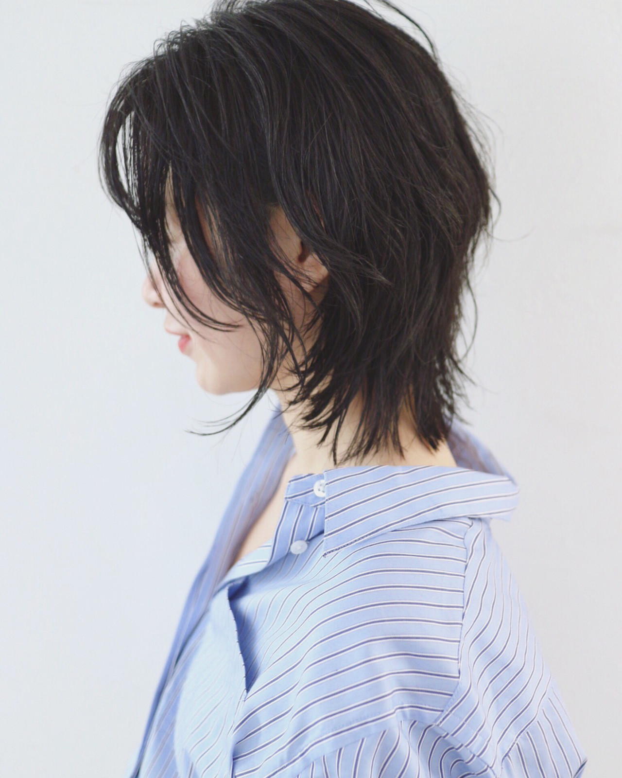 ニュアンスウルフ ウルフカット ストリート ウルフ ヘアスタイルや髪型の写真・画像