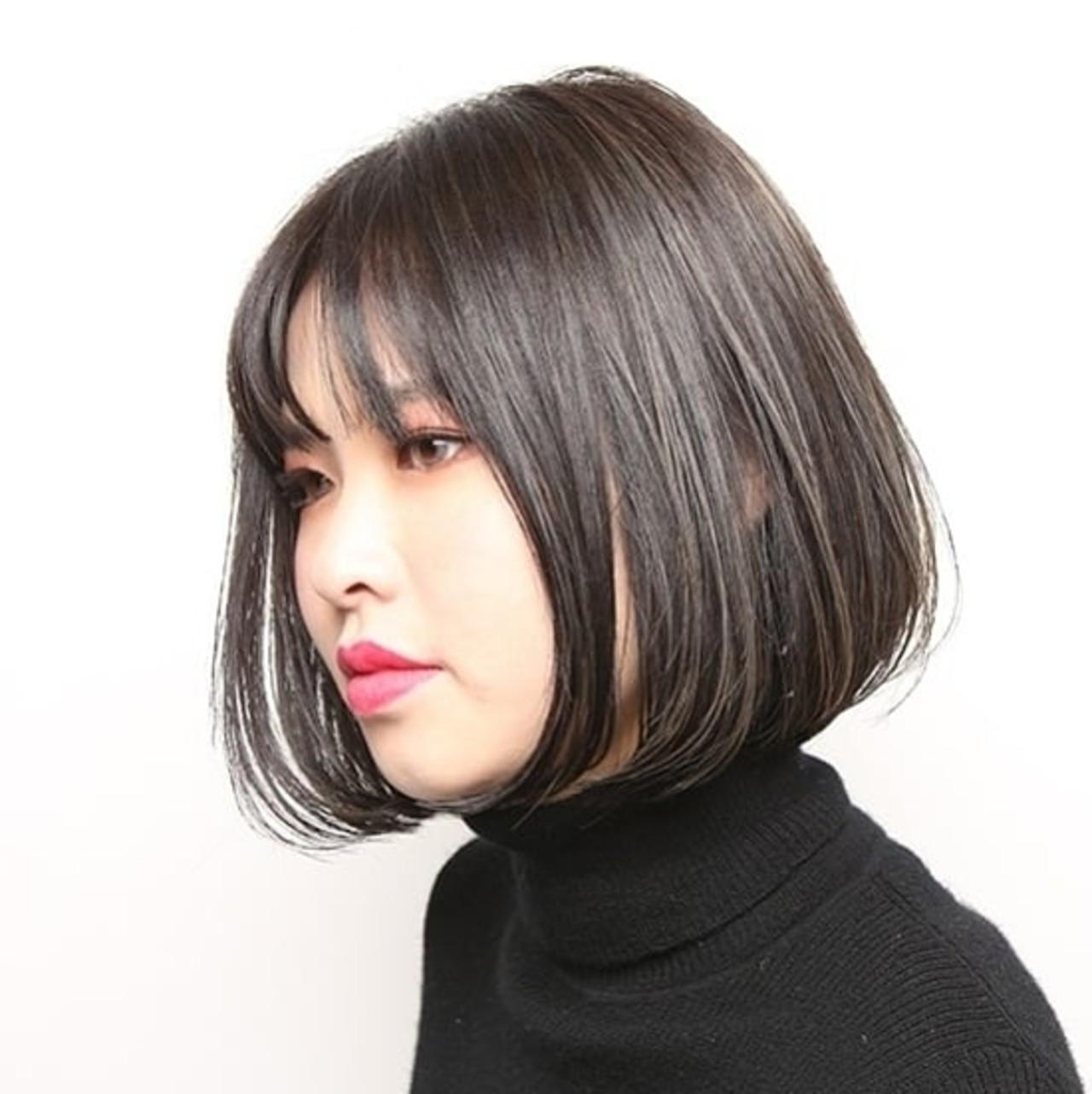 ワンレングス 似合わせカット 阿藤俊也 PEEK-A-BOO ヘアスタイルや髪型の写真・画像