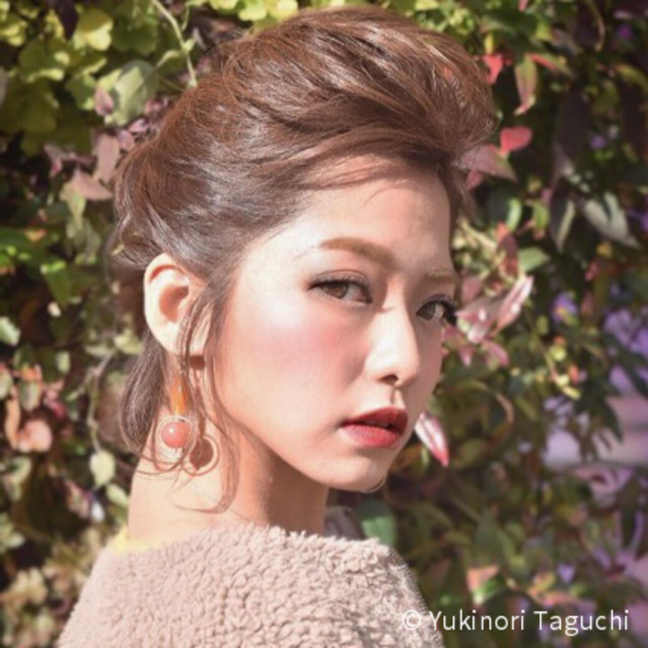 前髪なし!ふんわりトップのハーフアップ Yukinori Taguchi