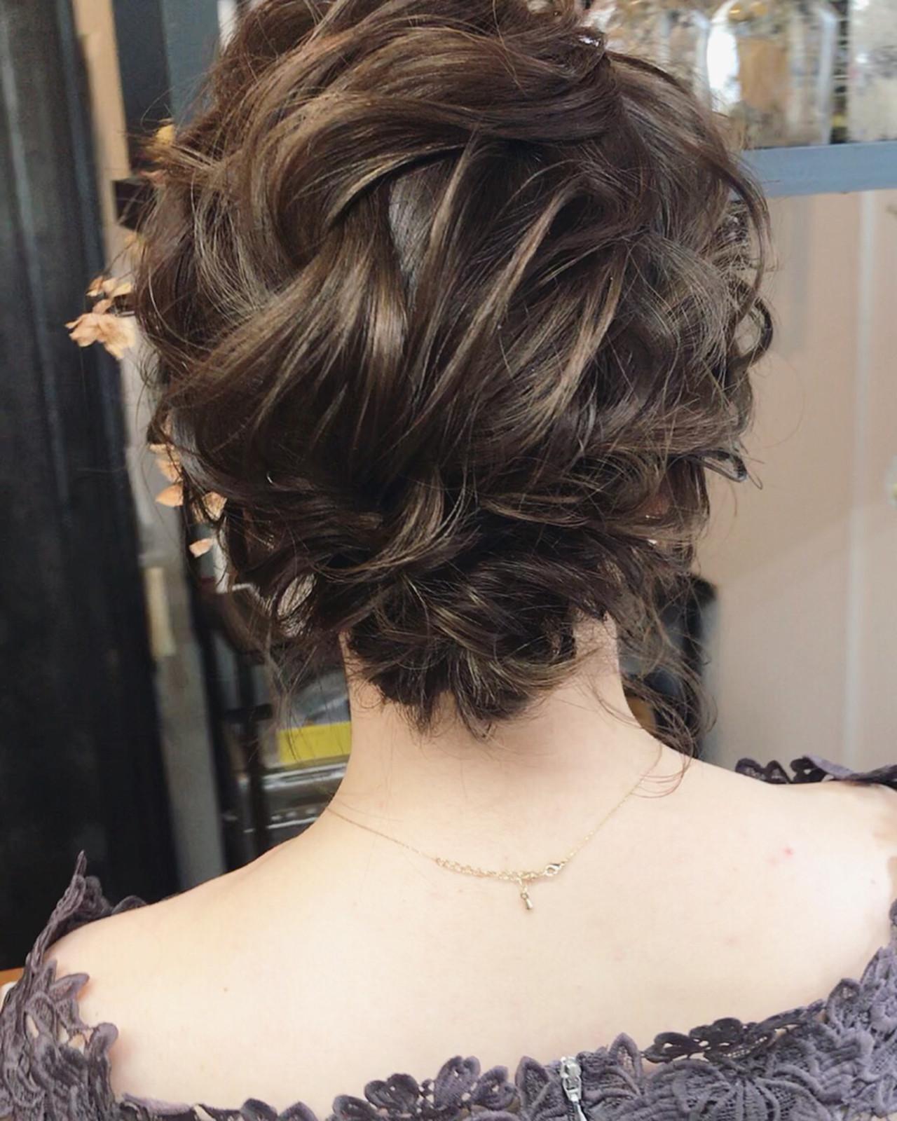 大人女子におすすめのボブローシニヨンの髪型 小林 明弘Maison Carpe