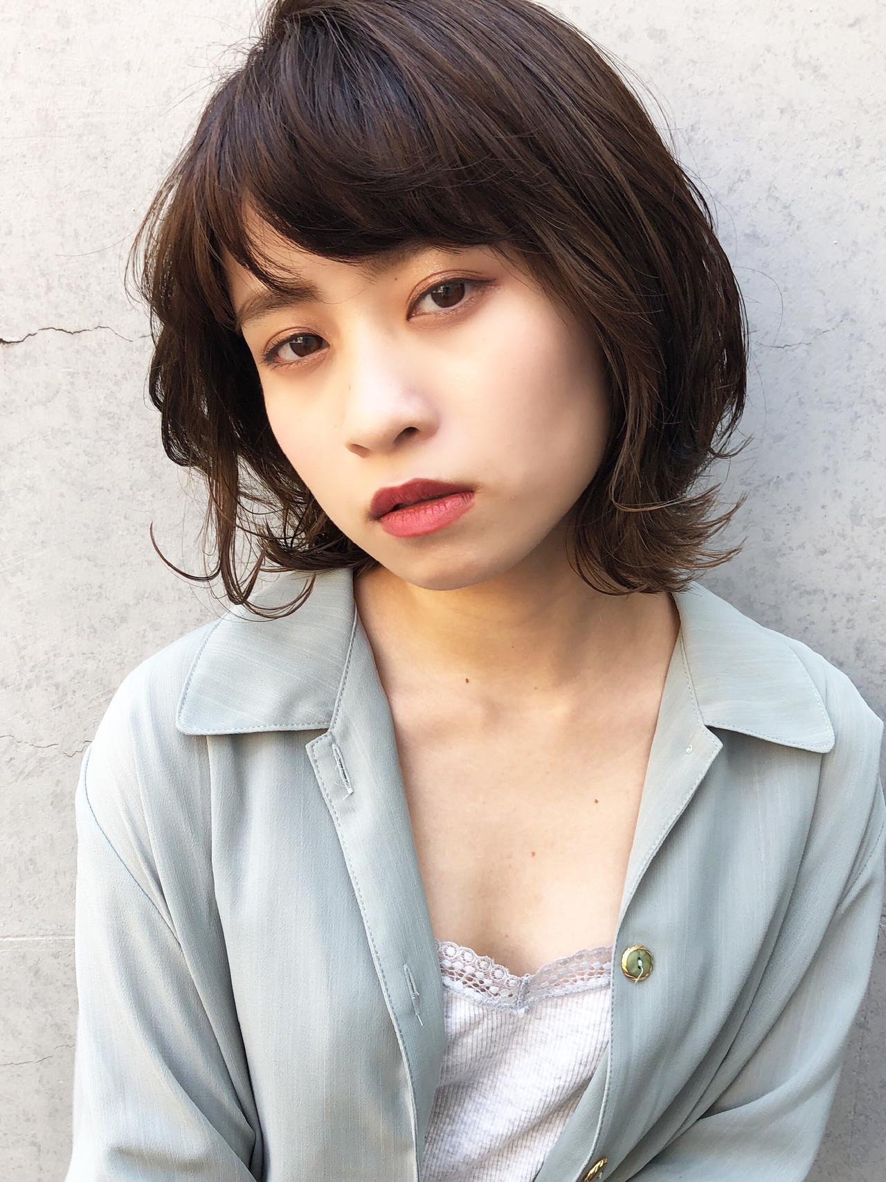 レイヤーなしより軽やかさアップの外ハネ 玉井千咲/モリオフロムロンドン成増3号店