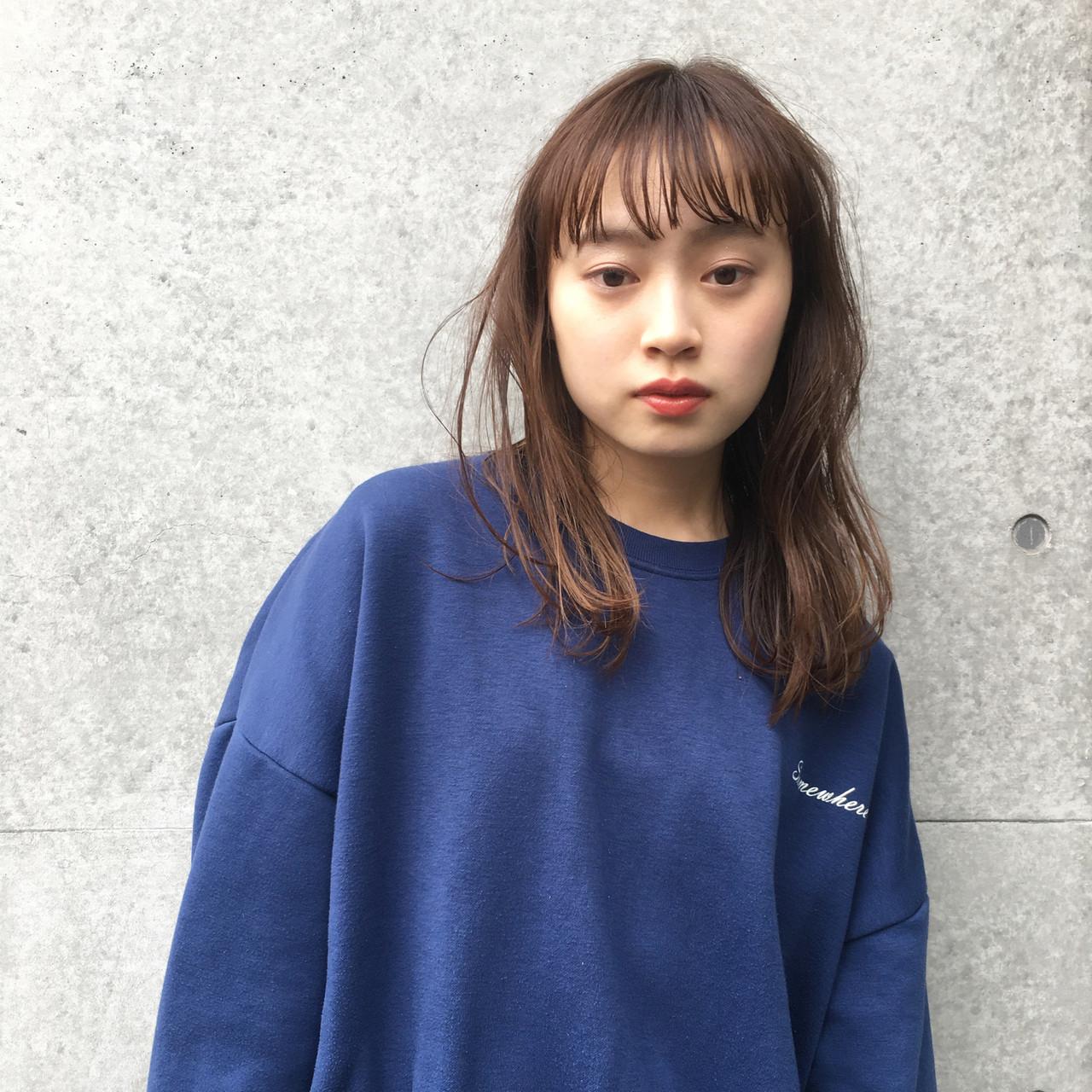 ストリート 大人女子 パーマ ウェーブ ヘアスタイルや髪型の写真・画像
