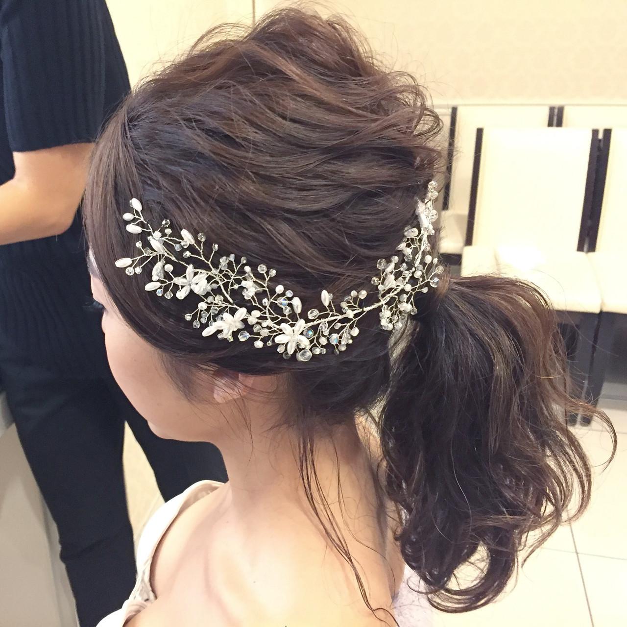 ふんわりルーズがポイントのセミロングの髪型 Aya OkamotoTHE AMAN GIRL