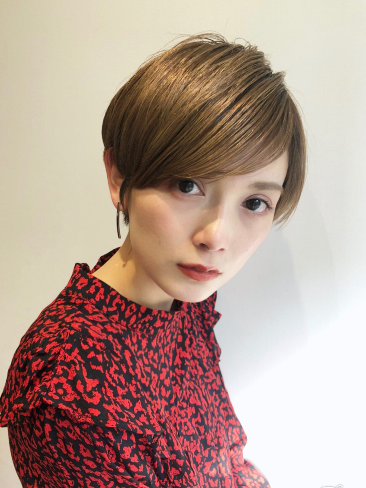 ハンサムショートをフェミニンに仕上げる Que hair director 高橋貴大Que hair