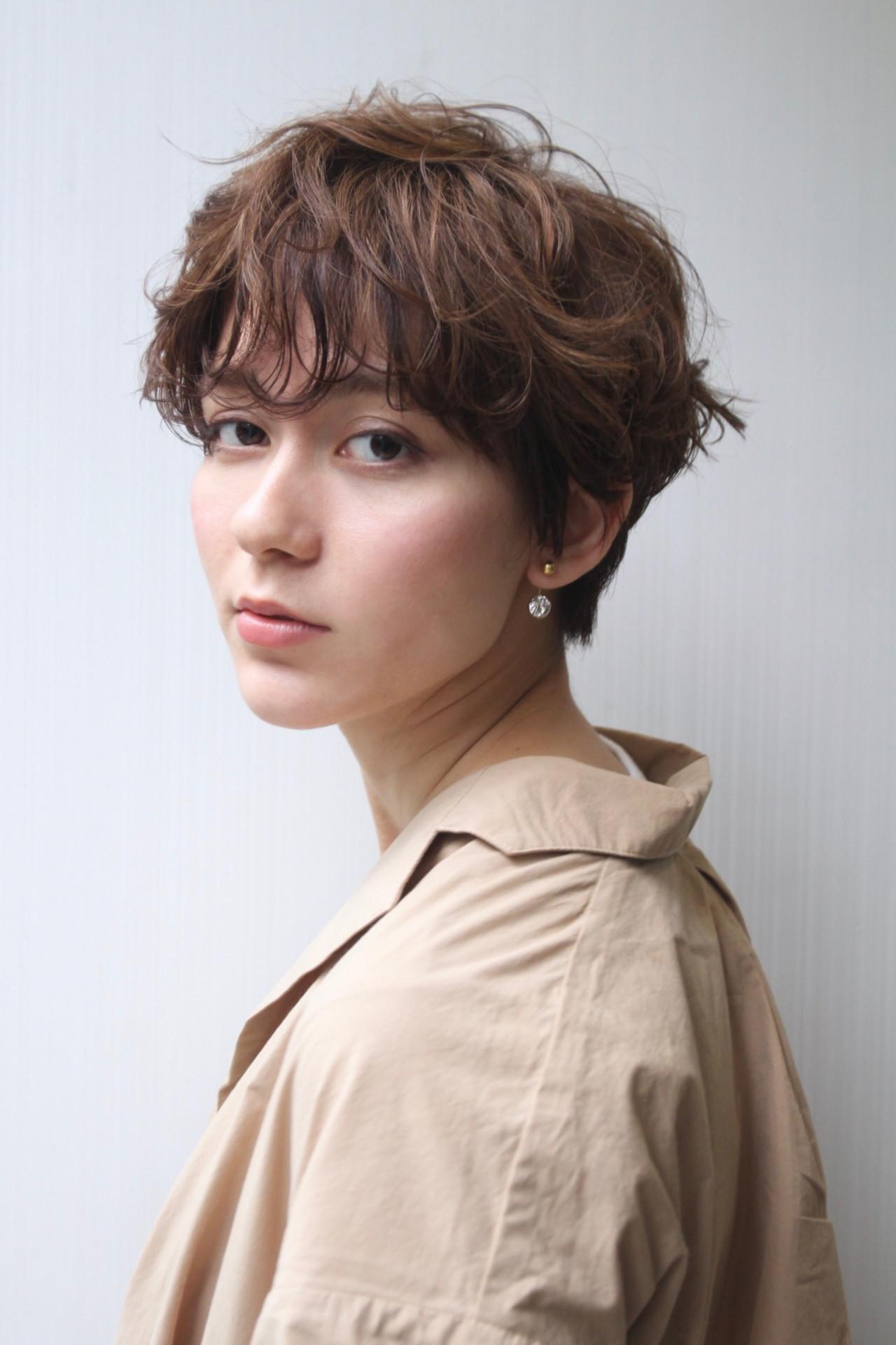 イマドキヘアは前髪もパーマでくるっと hayase (ヨシモトハヤセ)