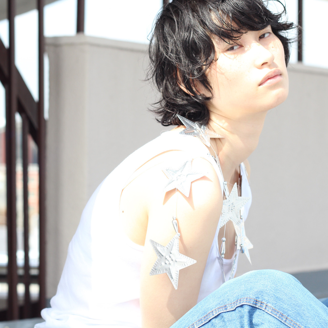 セミウェットがポイントのストリート系暗髪ショート 伊藤 由貴絵hair +resort bouquet