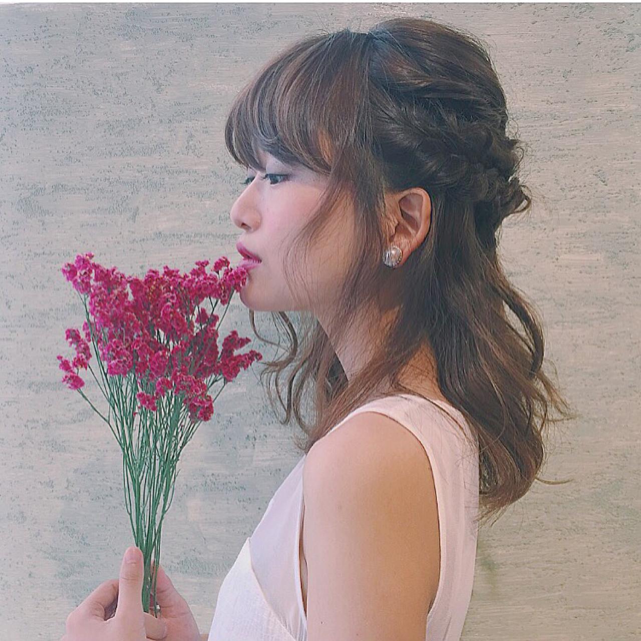 ダブルでねじって♡ふんわりフェミニンヘア Chihiro Hayakawa