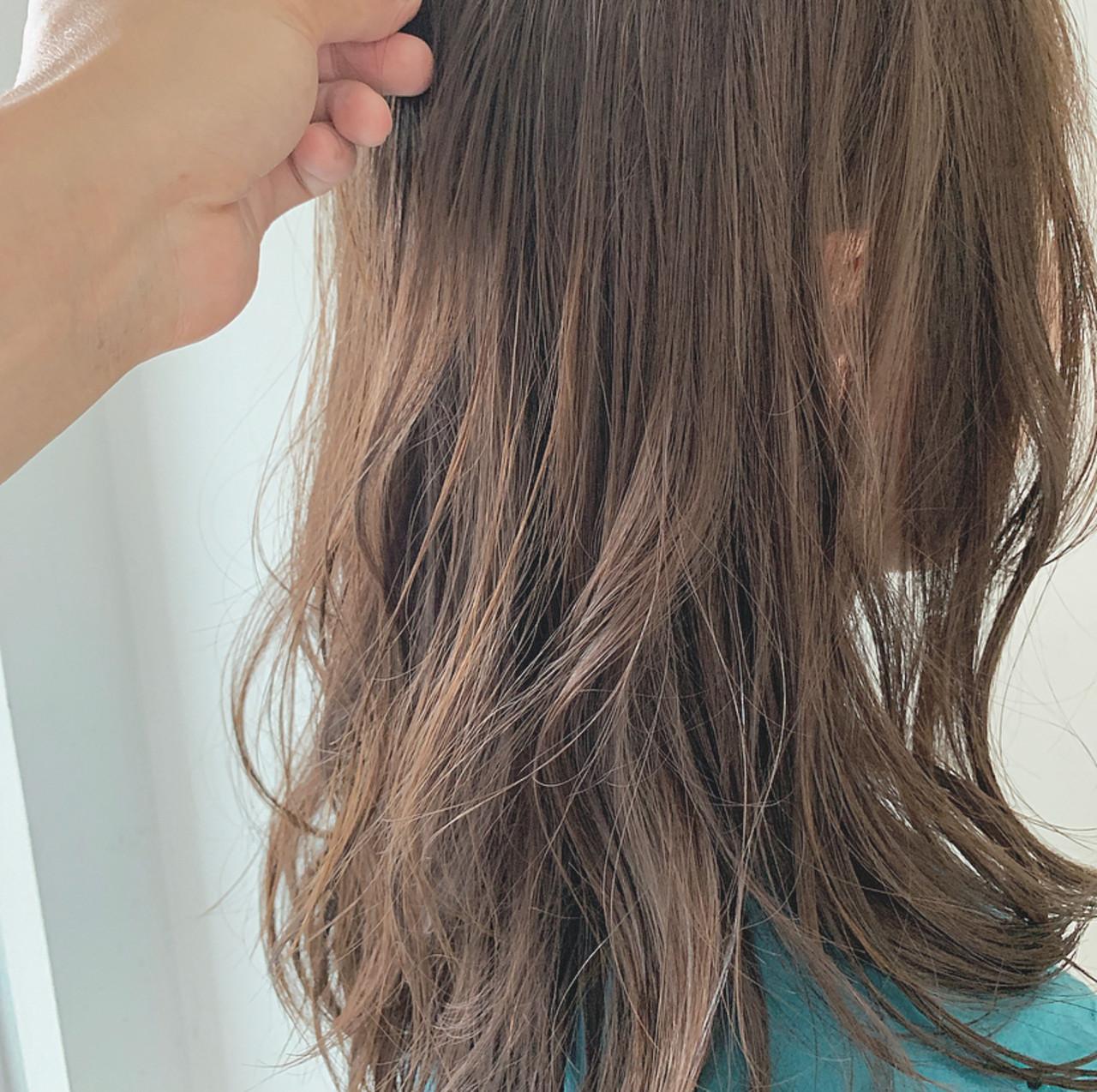赤みを消して透け感を高めるヘアカラー hiroyuki_kihara__Direction