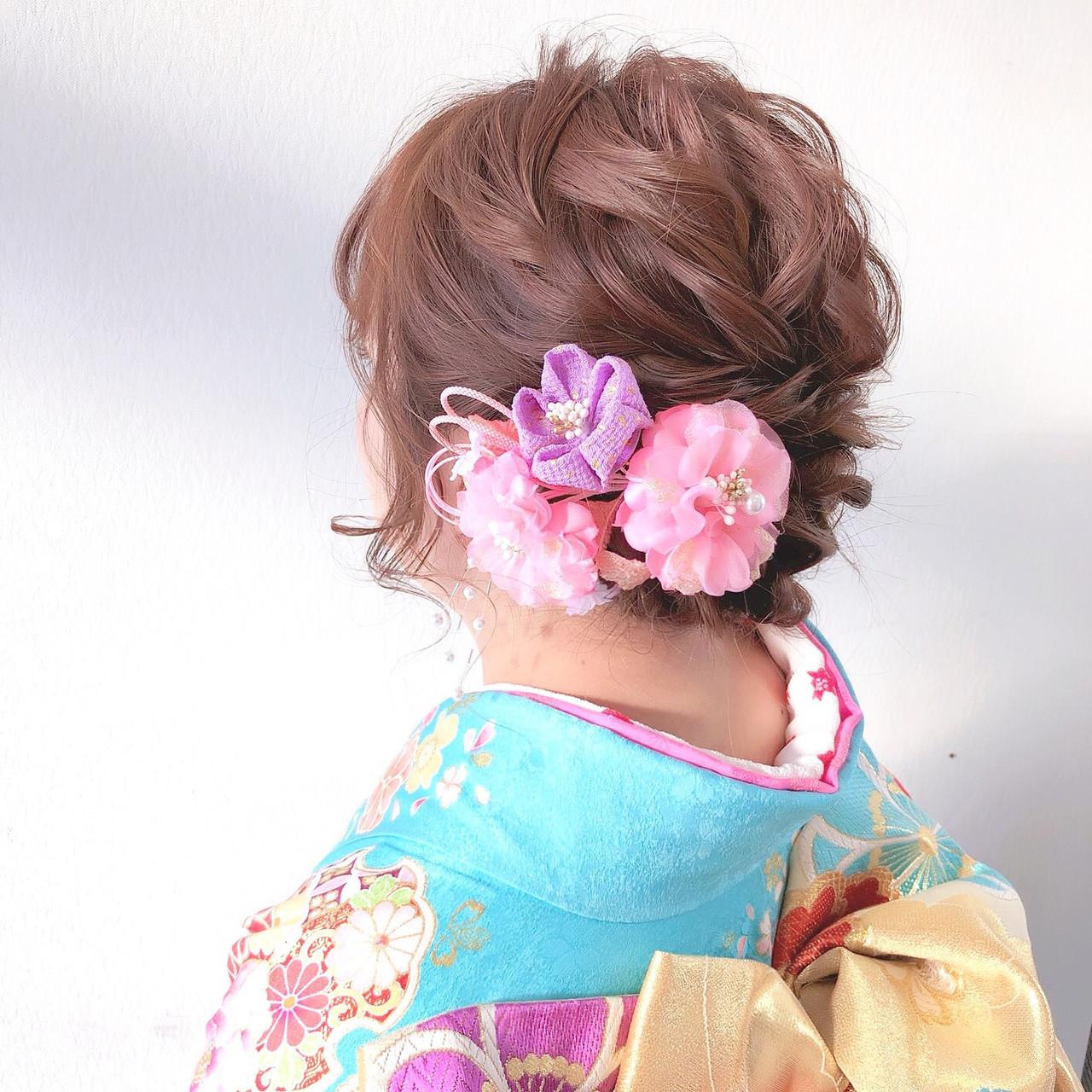 脱オバサンのふんわり編み込みヘア ヤマナカサトル