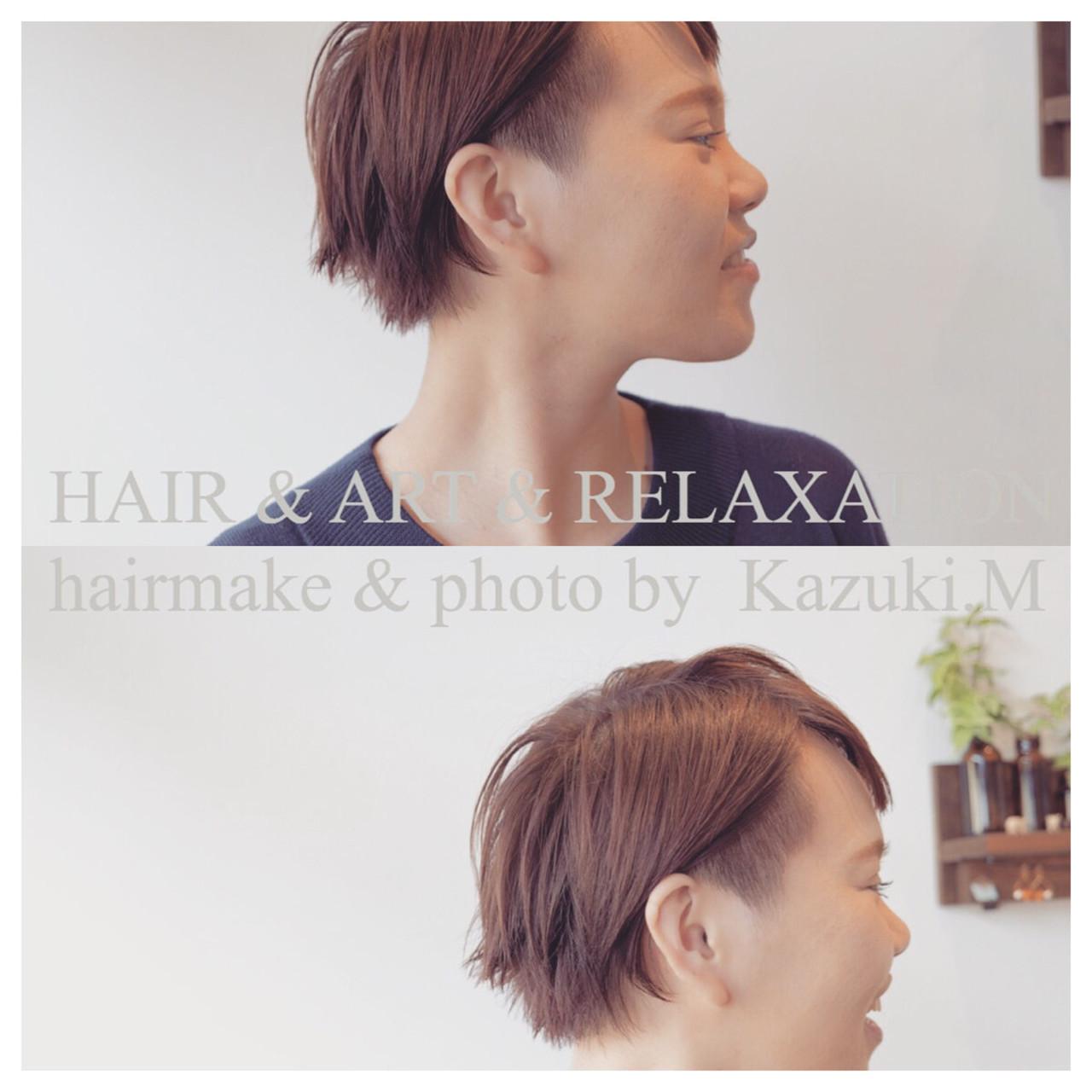 サイドすっきり☆チラ見せのツーブロックヘア 松永和樹