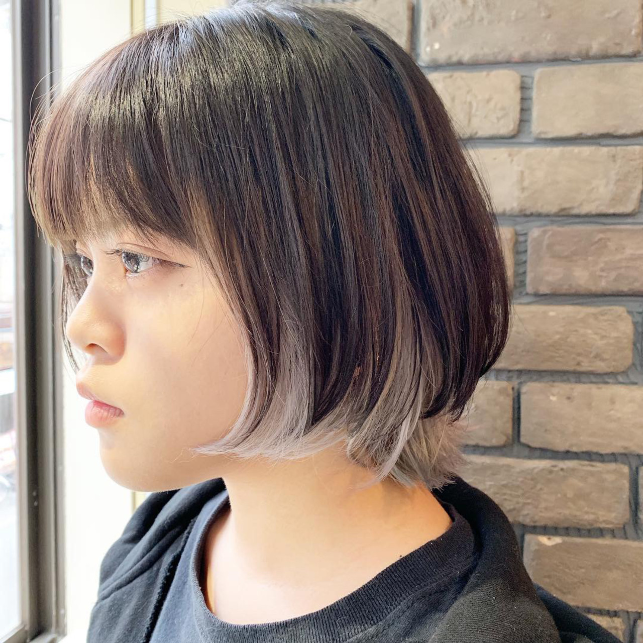 女っぽくておしゃれなマッシュネオウルフ 谷川 健太