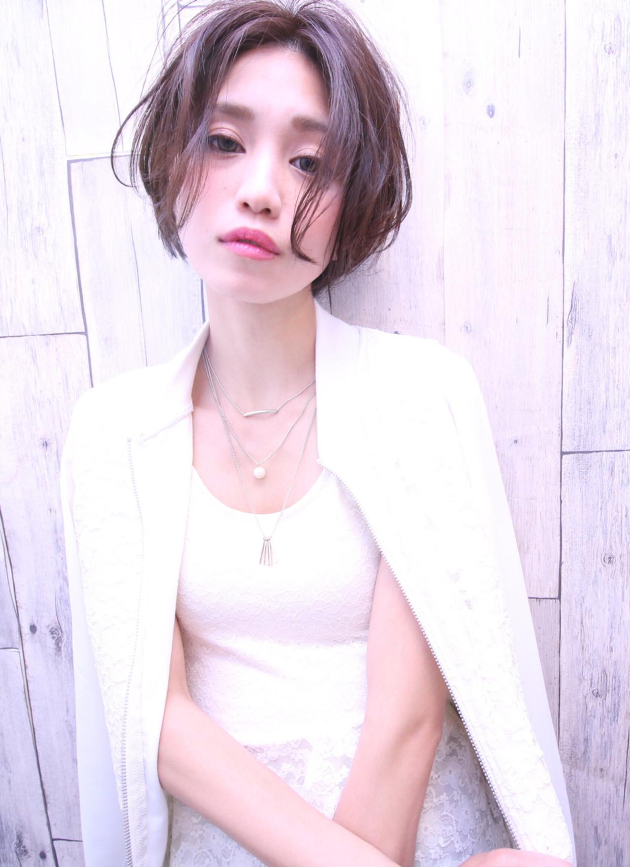 前髪なしでハンサムなクールショート Nor-Su
