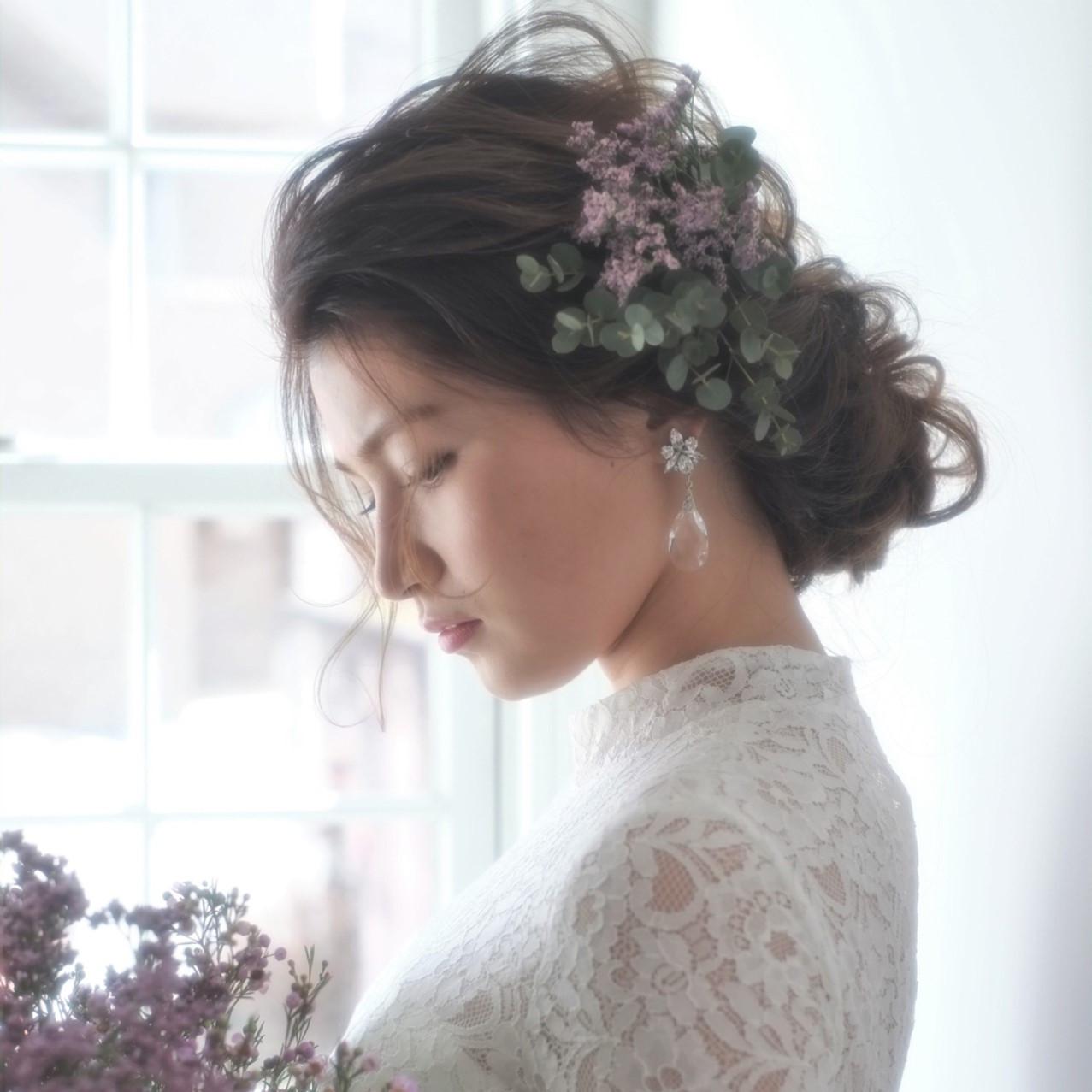 ドレスチェンジを華やかに♡花嫁ヘアは衣装に合わせたヘアスタイルで