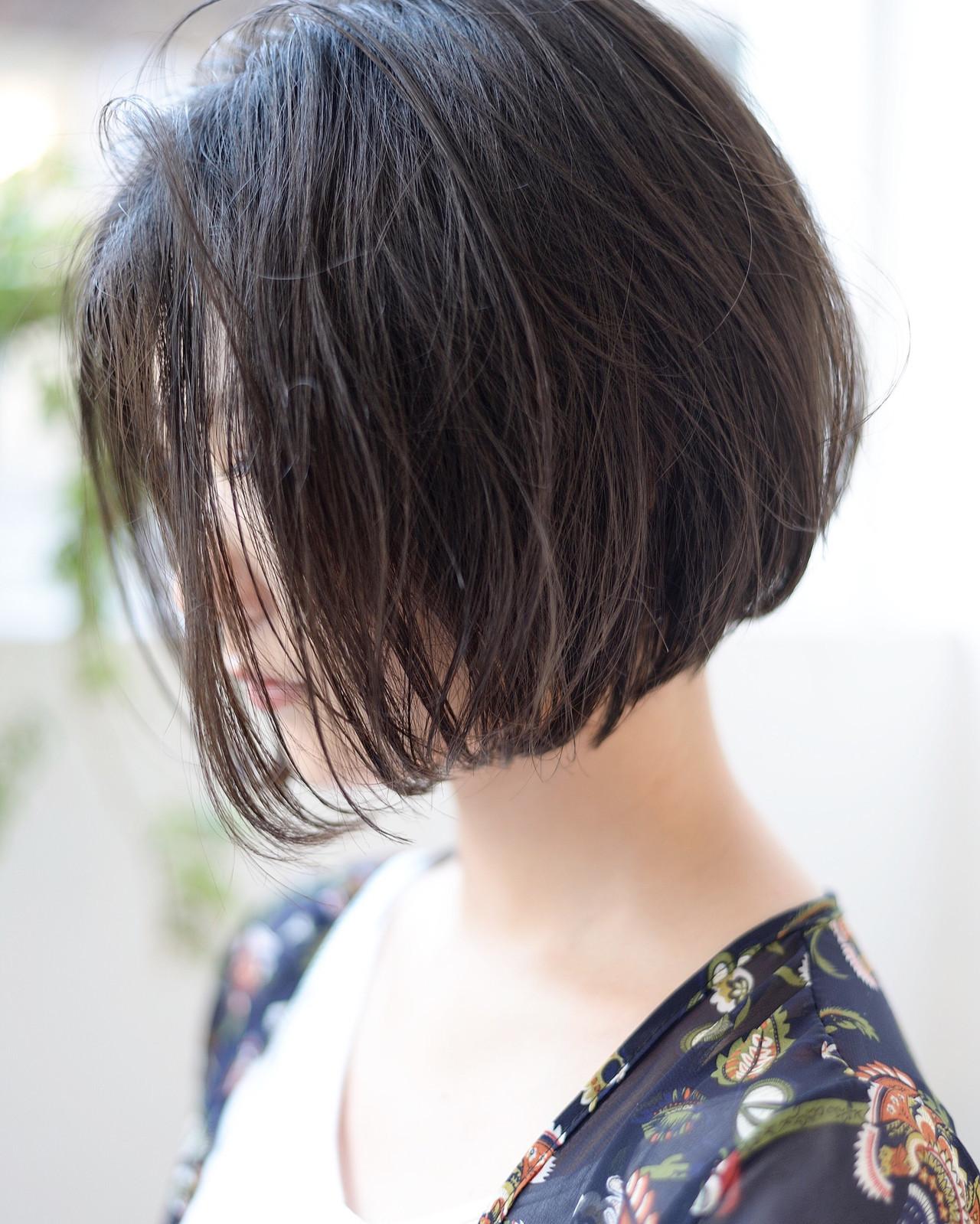 黒髪OKのアンニュイほつれボブヘア♡ 郡司 泰之 / butterfly青山