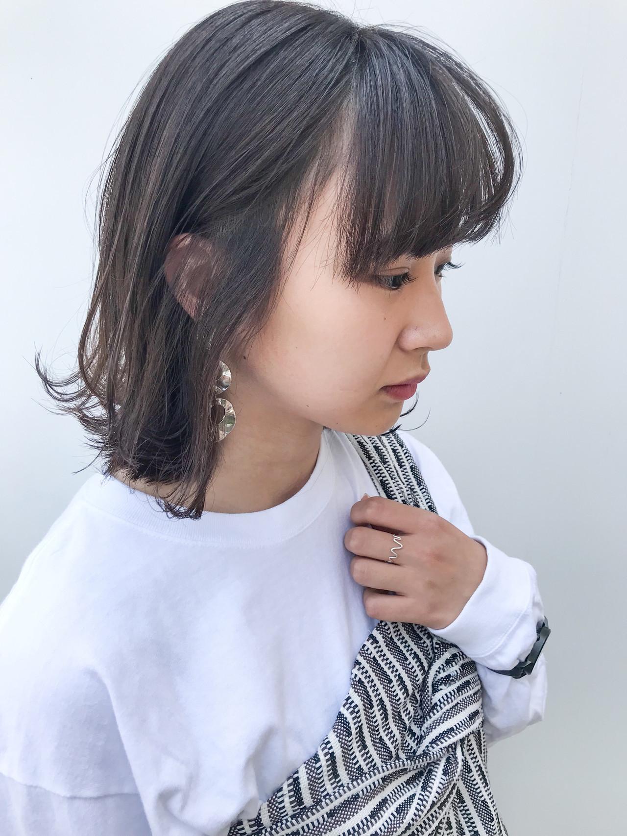 大人かわいい ミディアム デート コンサバ ヘアスタイルや髪型の写真・画像