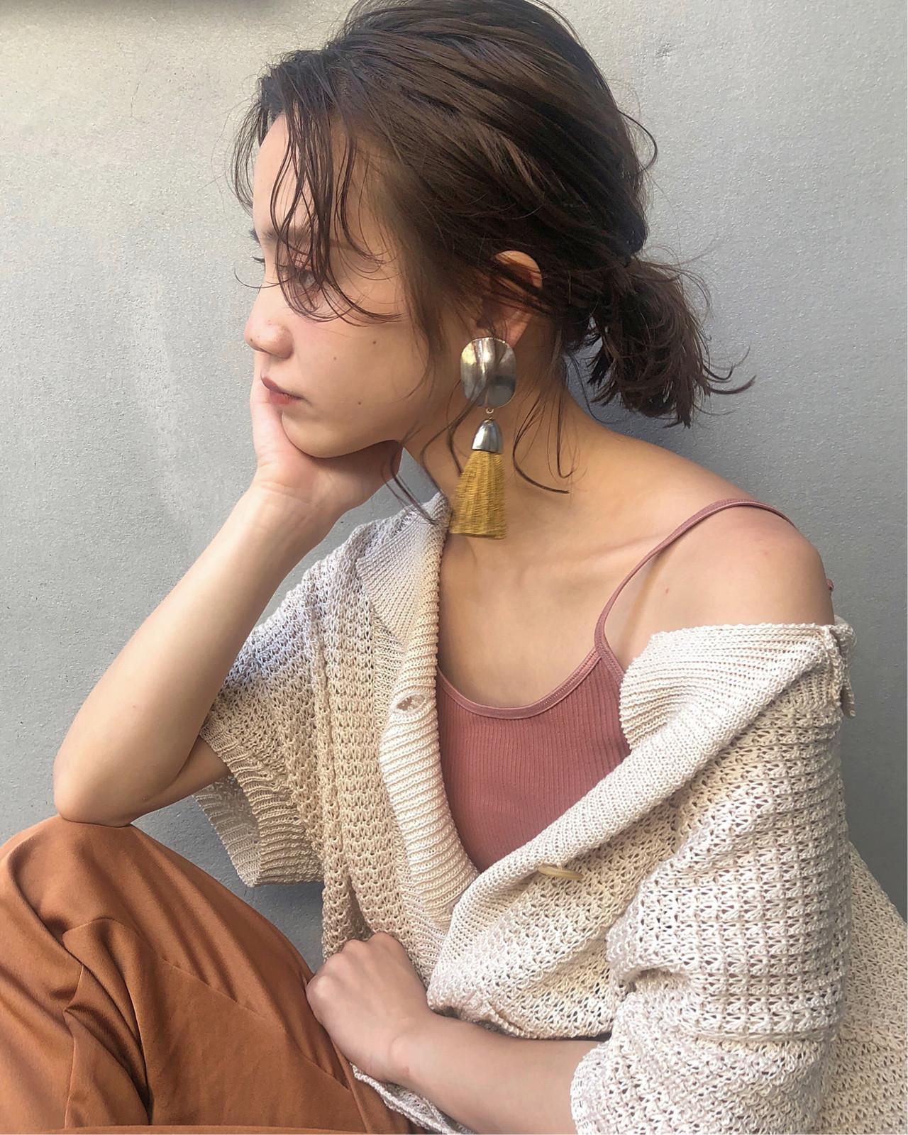 アンニュイが素敵♡デート用のミニポニー♡ 藤田成美 / oli