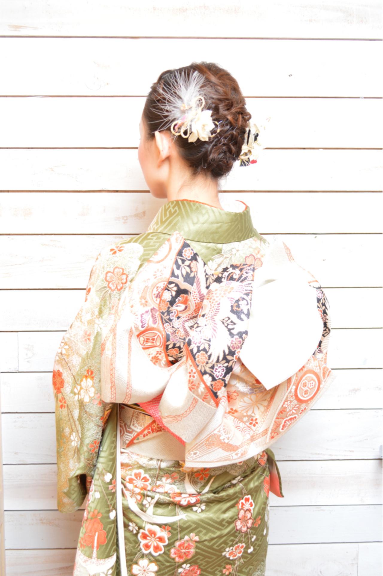 編み込み ショート アップスタイル ヘアアレンジ ヘアスタイルや髪型の写真・画像