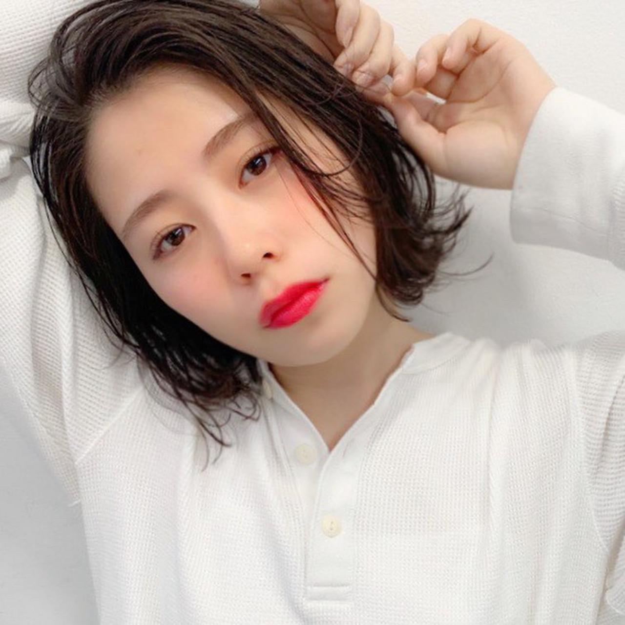 40代☆大人女子のハンサムレイヤーボブ 日比野 恵理