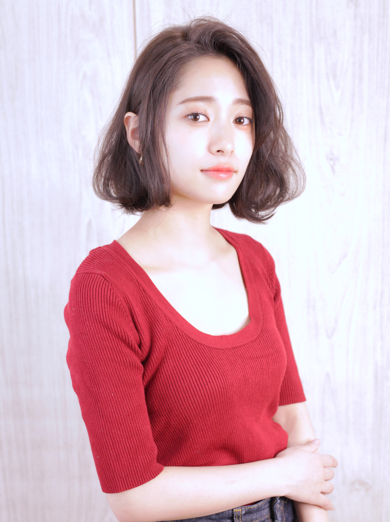 アンニュイに♡毛先パーマのボブヘア 石田 学史