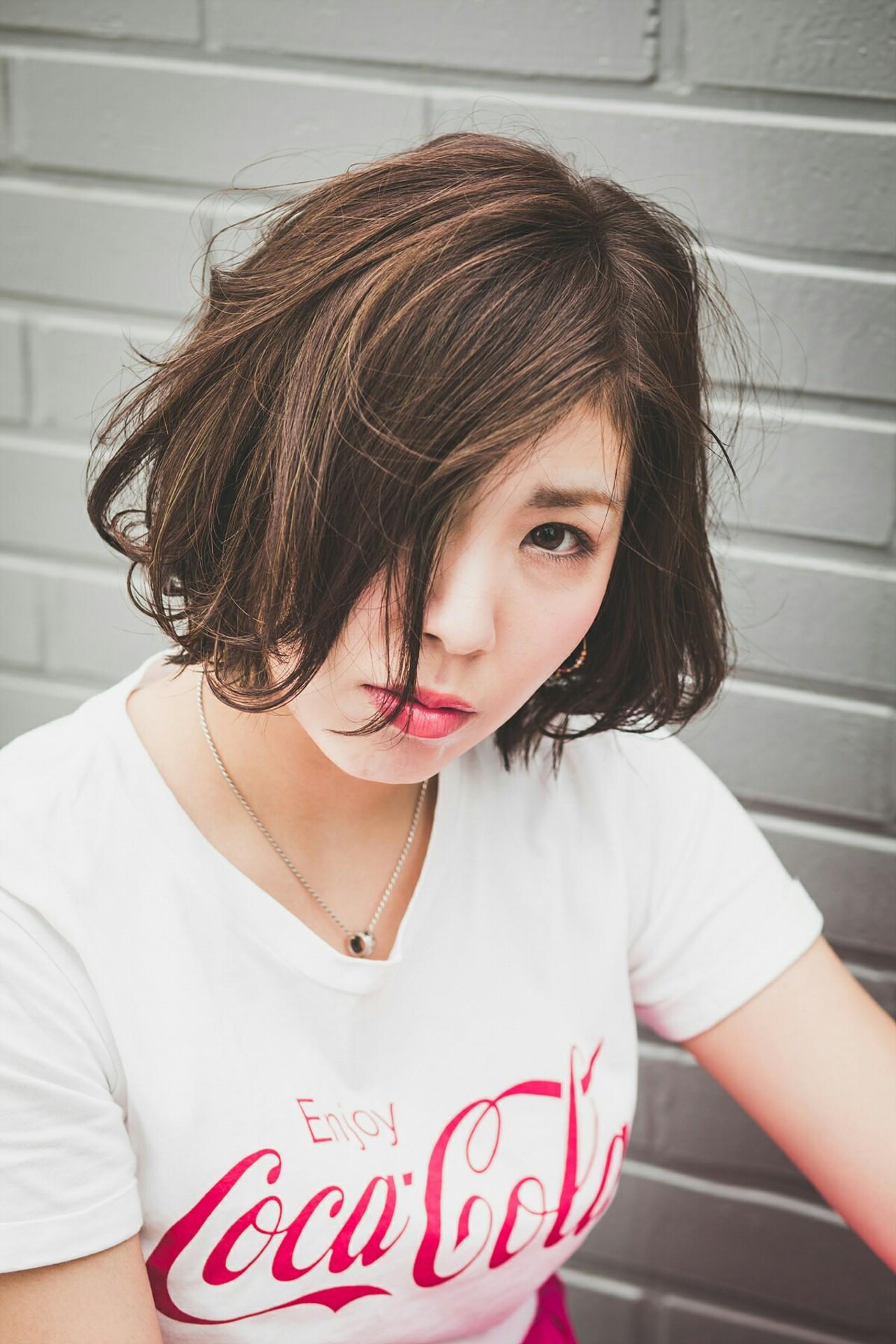 30代☆出来る女性を演出するワンレンボブ 韓国のゴヨンジュ