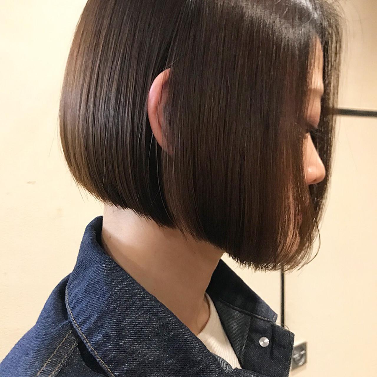 ワンレン風でオフィスOKのヘアスタイルに♡ 難波大和