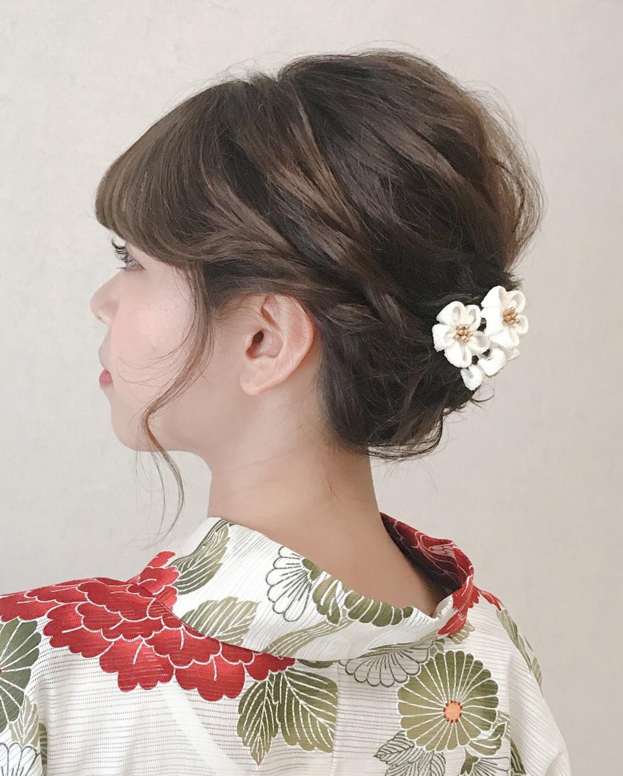 ふんわり簡単アップヘアスタイル☆ Moriyama Mami
