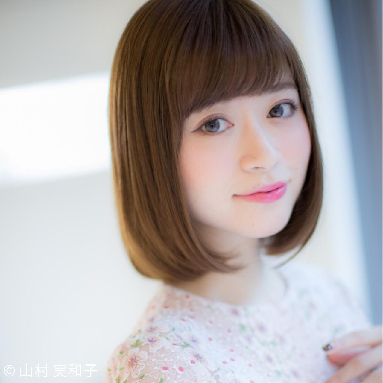 【基本】しっかりめの重め前髪 山村 実和子