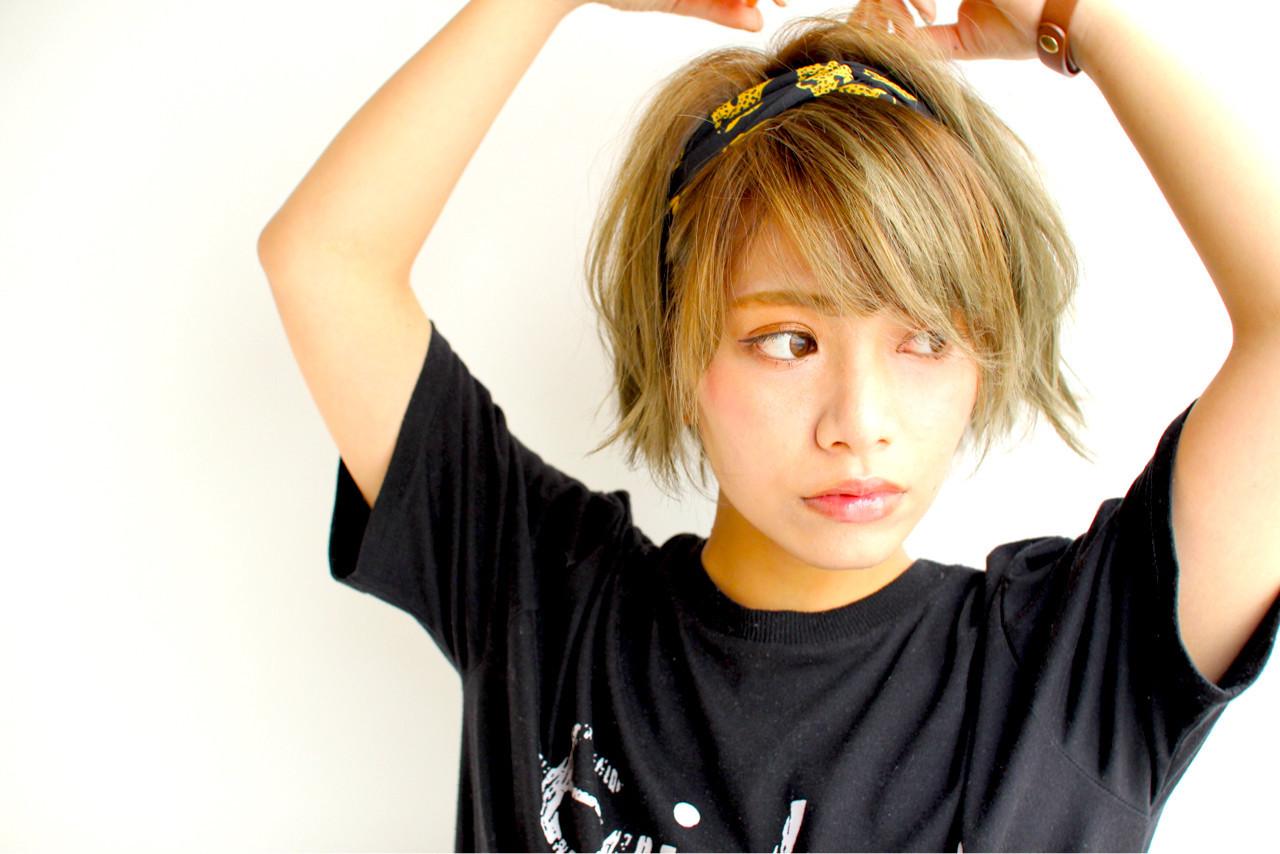 前髪ありでスポーティーに♡ガーリーヘアスタイル☆ 遊佐 裕太
