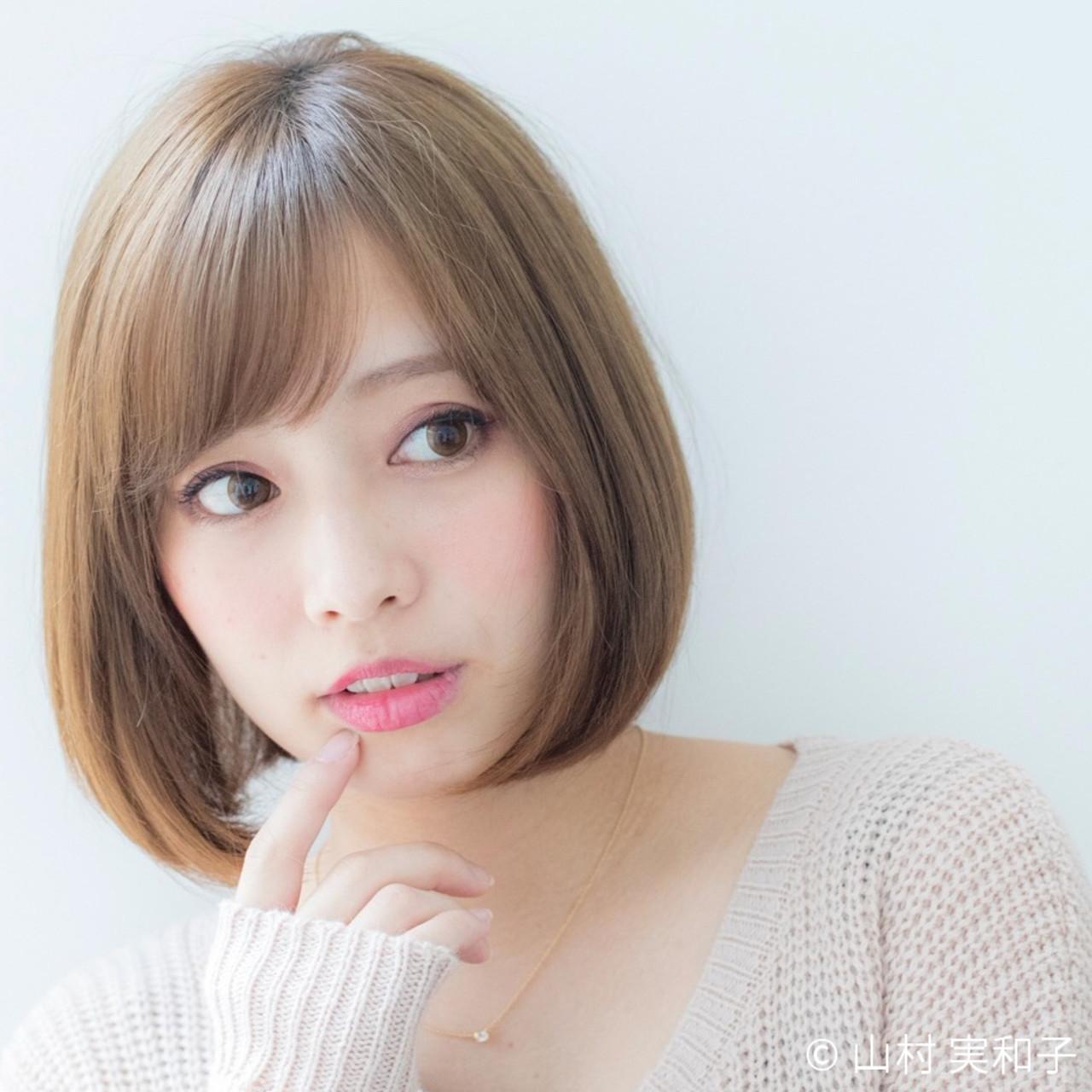 一番大事なポイントなのは顔型! 山村 実和子