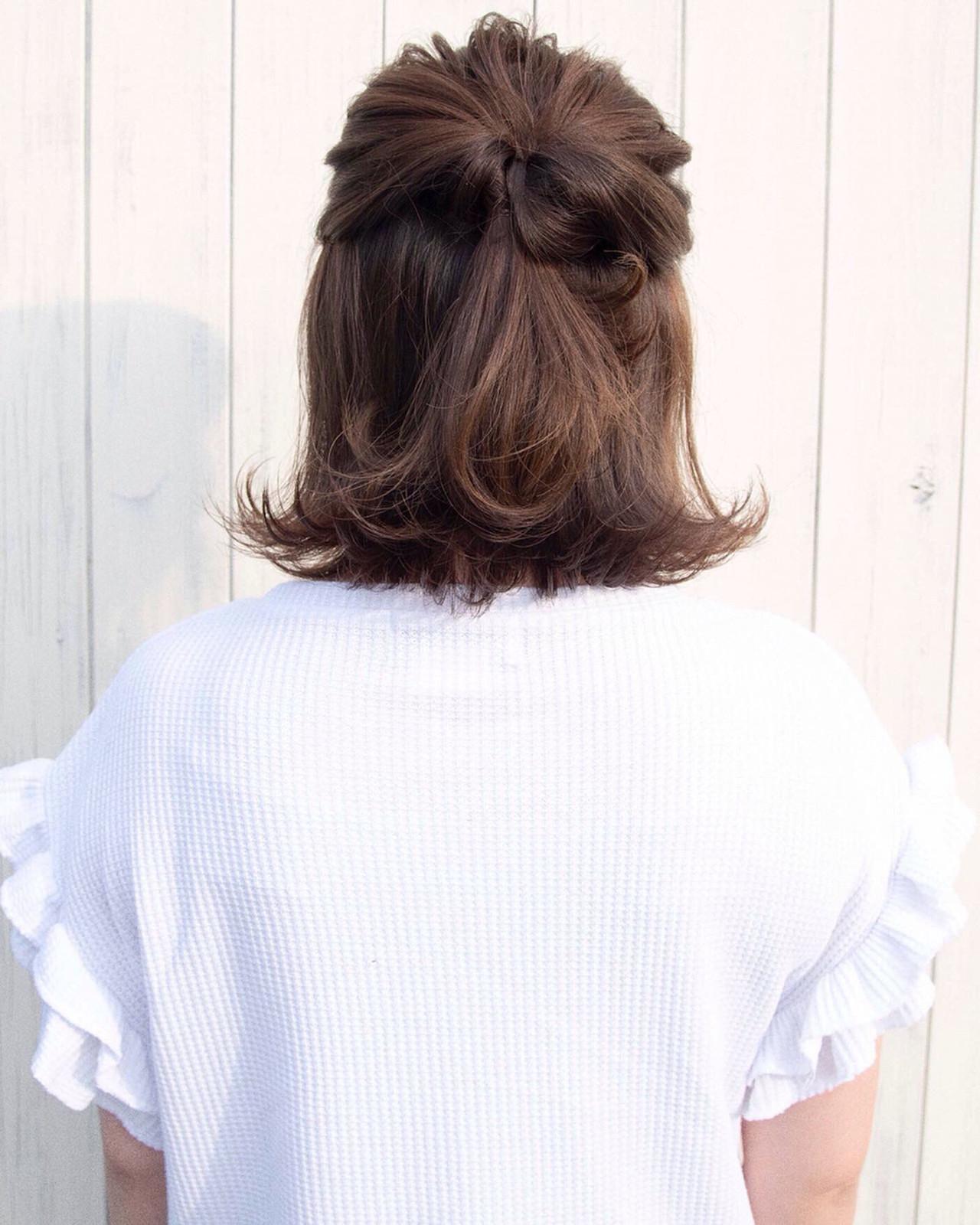 トップふんわりのくるりんぱボブヘア♡ shohei nishimori