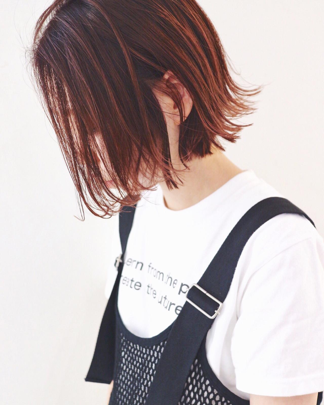 外国人風のこなれ感がポイント♡おしゃれな外ハネボブ 三好 佳奈美Baco.(バコ)
