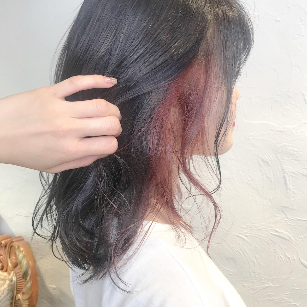 モード ミルクティーベージュ オレンジベージュ ミルクグレージュ ヘアスタイルや髪型の写真・画像