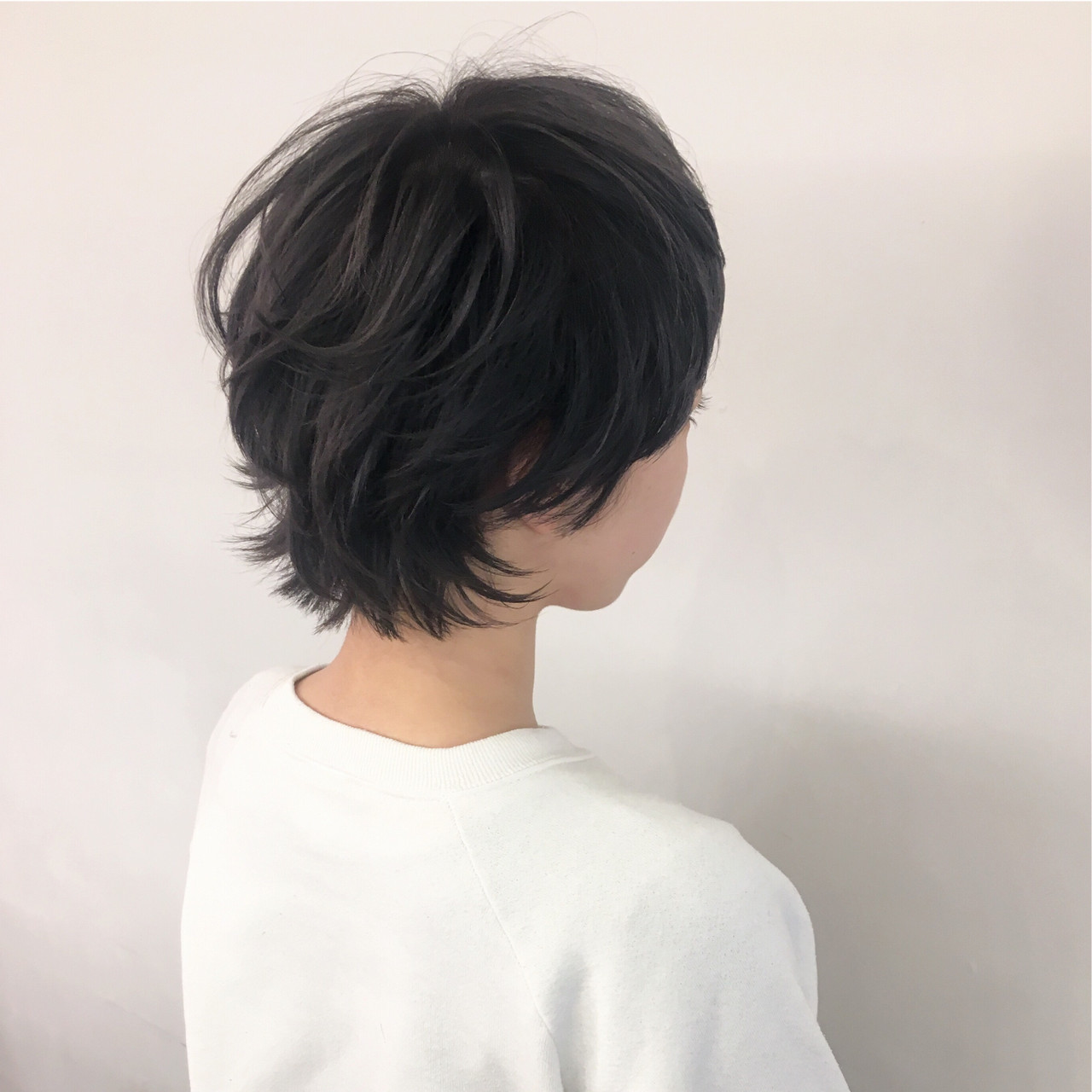 ショート ハイトーン モード ハイトーンカラー ヘアスタイルや髪型の写真・画像