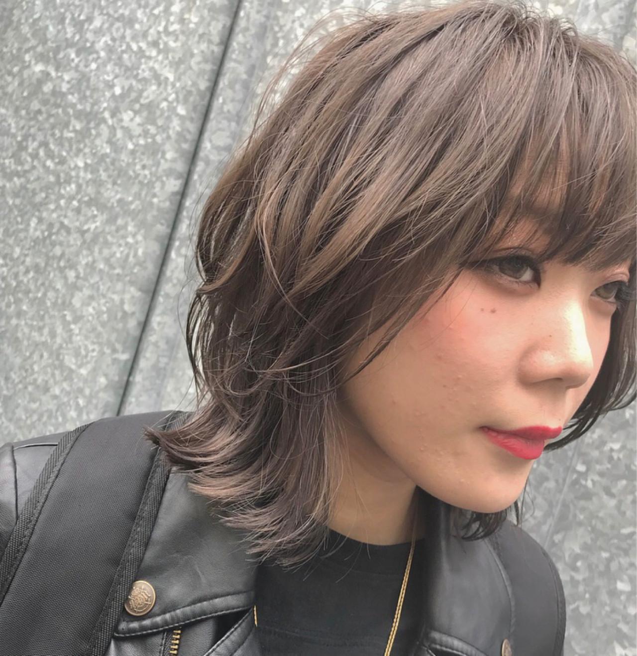 ショート ストリート ウルフカット マッシュ ヘアスタイルや髪型の写真・画像