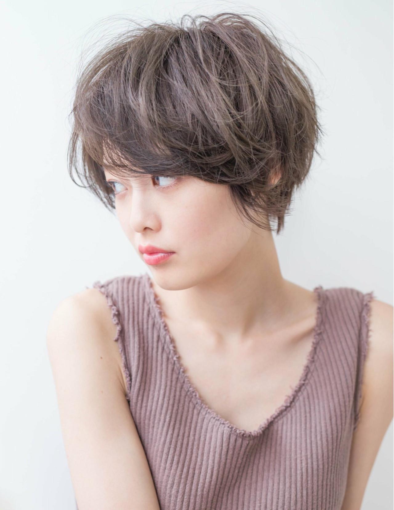 マッシュ 大人女子 大人かわいい 抜け感 ヘアスタイルや髪型の写真・画像