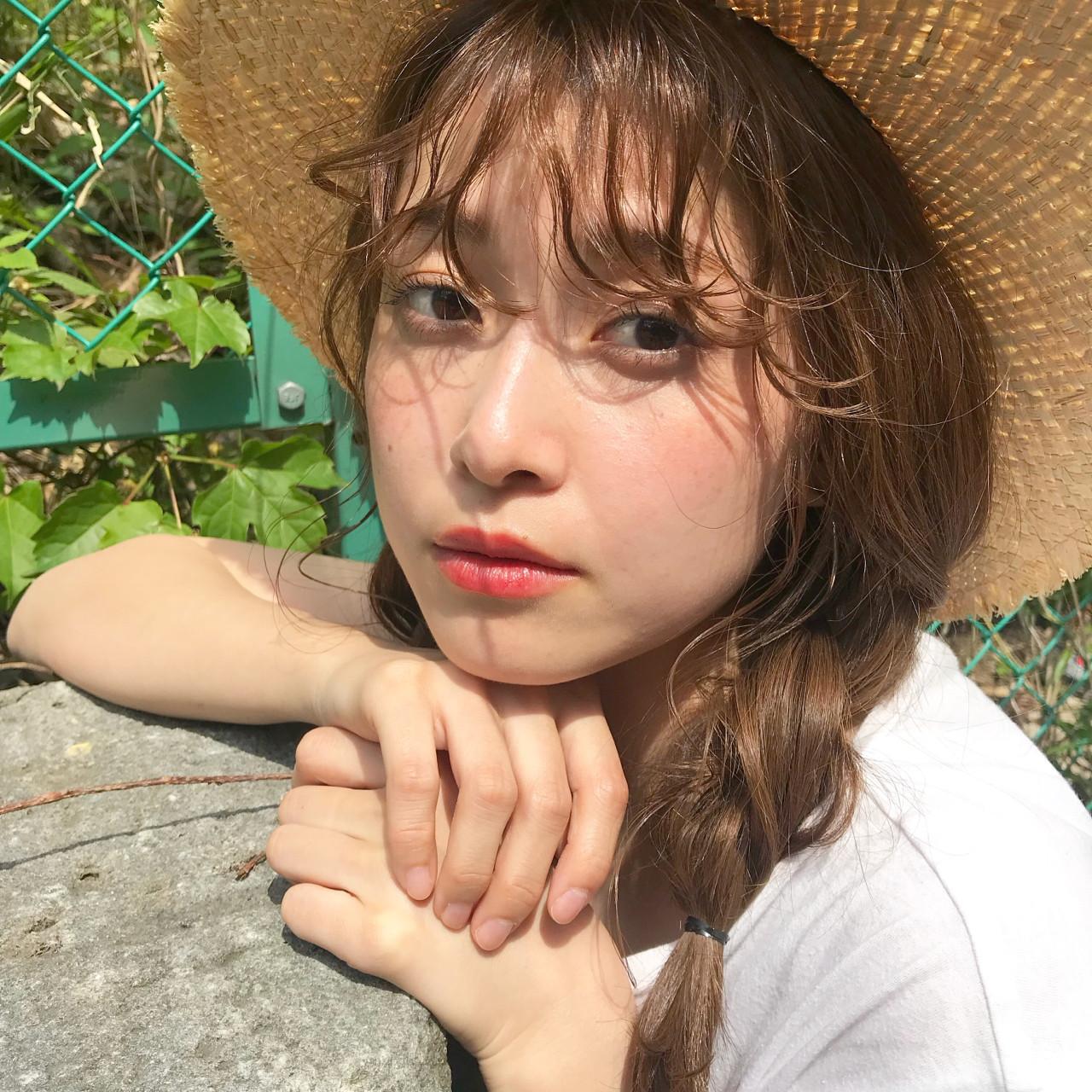 ゆる~い三つ編み×カンカン帽子で周りと差をつけよ♪ 伊藤愛子 GARDEN