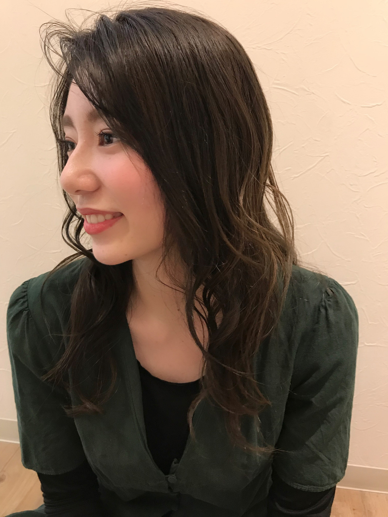 マッシュヘア デート アンニュイほつれヘア ロング ヘアスタイルや髪型の写真・画像