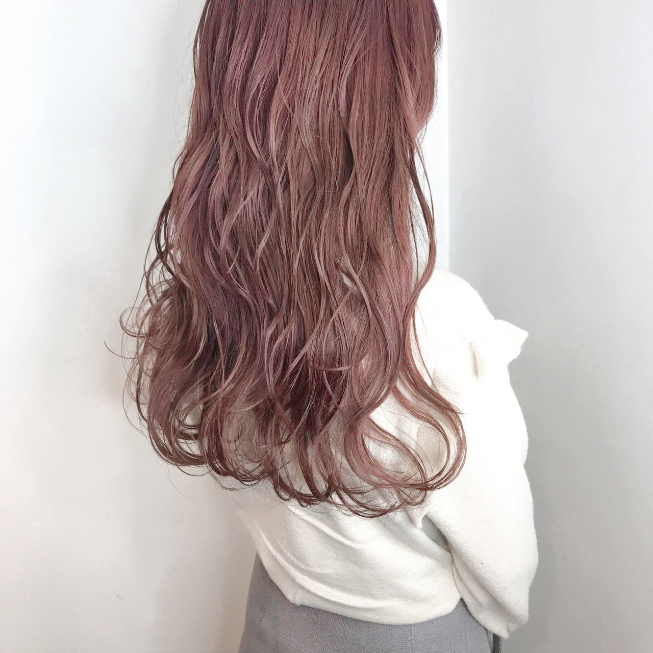 愛され髪色「ピンクカラー系」で秋のトレンドヘアも押さえちゃお♡
