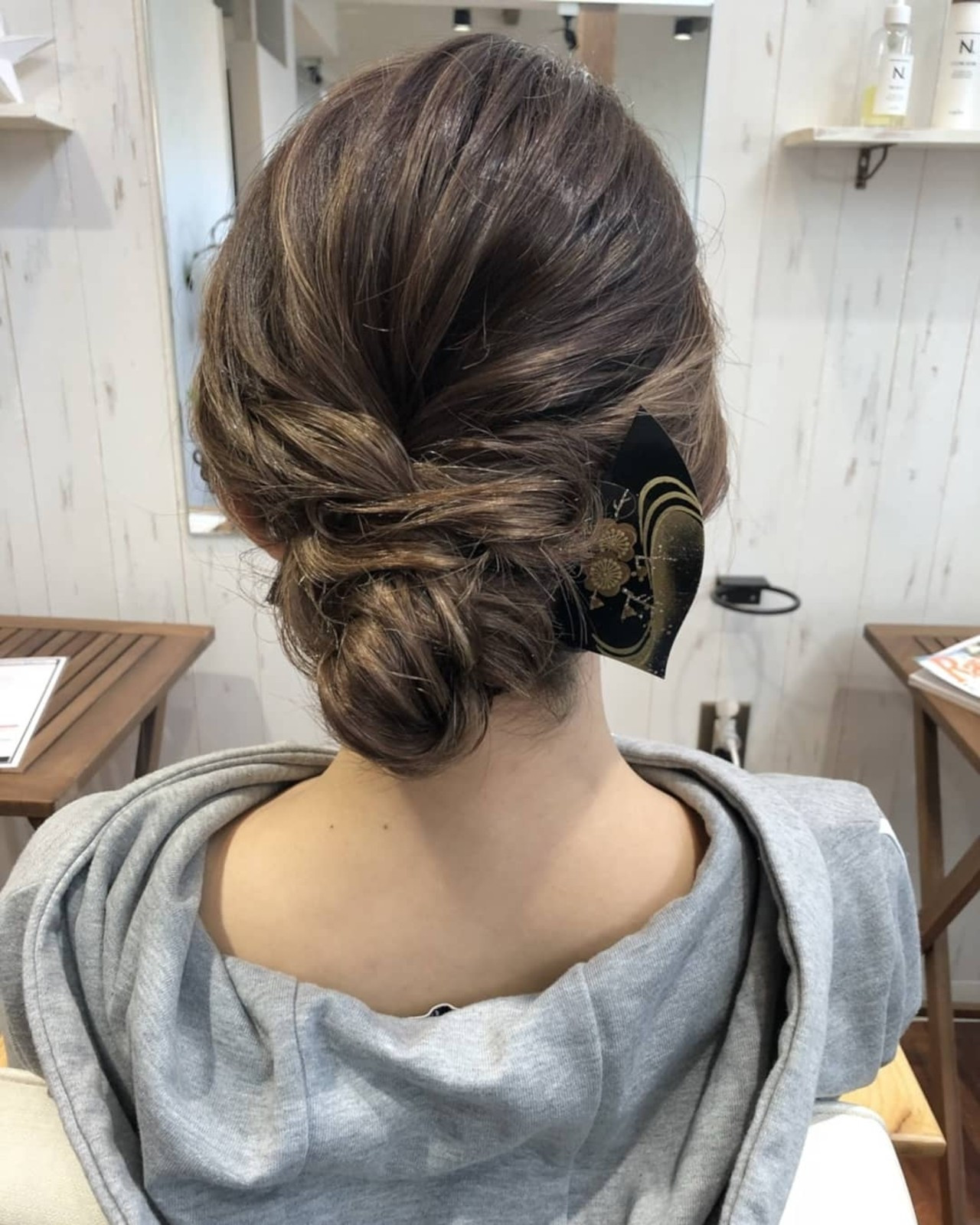 大人セクシーになれるセミロングの袴アレンジ 菅原匠Hair&Nail anchor by Laf