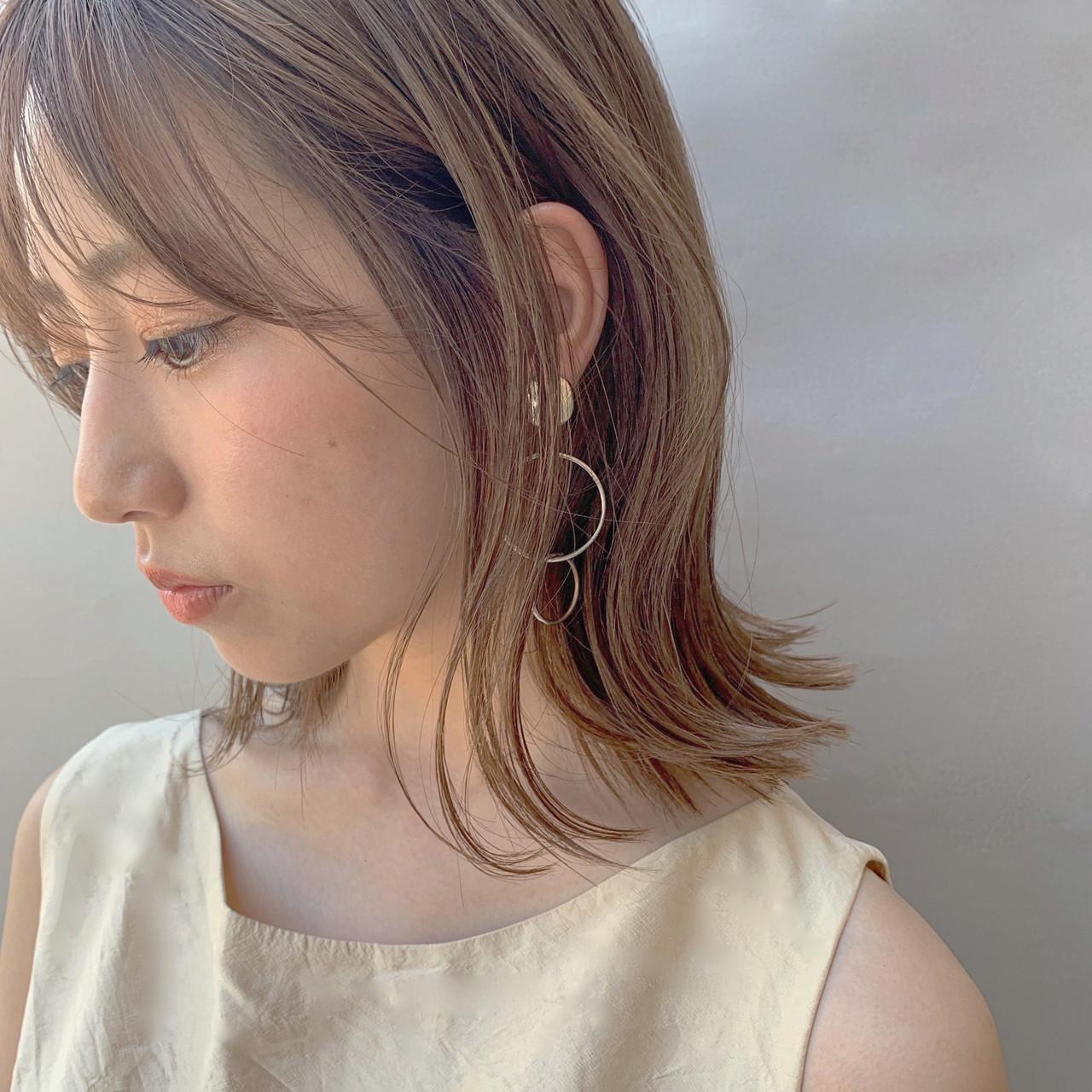 女の子は髪にも仕込む「くびれミディアム」 伊東咲紀